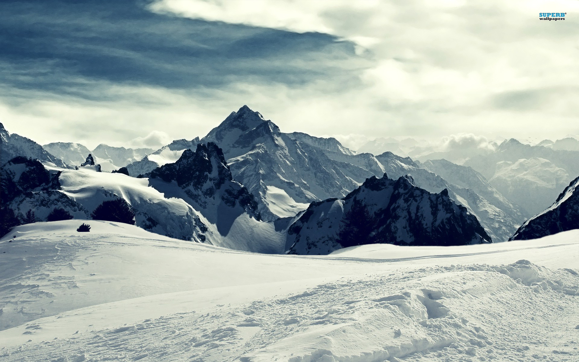 Snow Mountain Wallpaper 76 Pictures