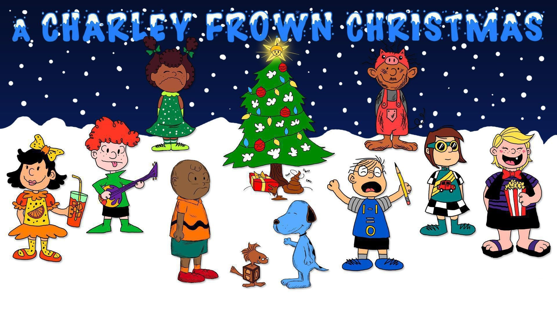 Snoopy Christmas Wallpaper (50+ pictures)
