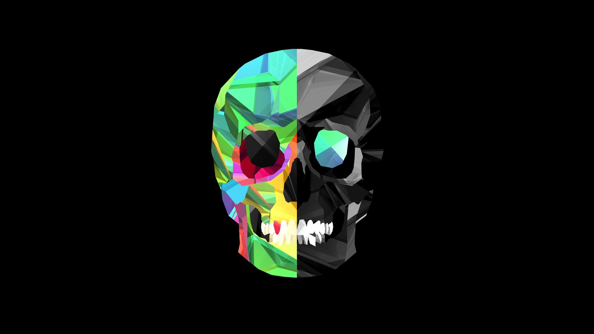 Awesome Skull Backgrounds 50 Pictures