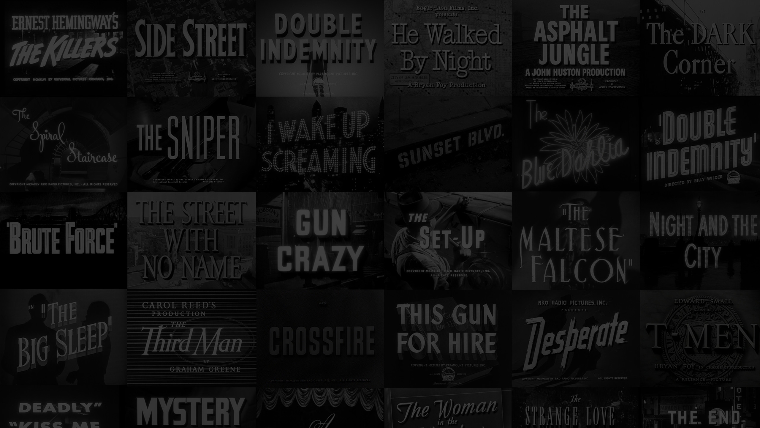 Film Noir Wallpapers 58 Pictures