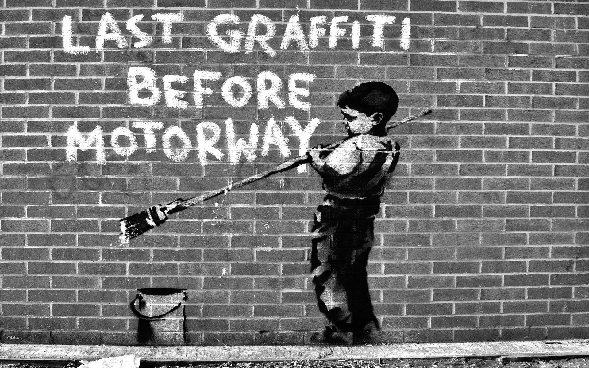 Banksy Graffiti Wallpaper (56+ pictures)