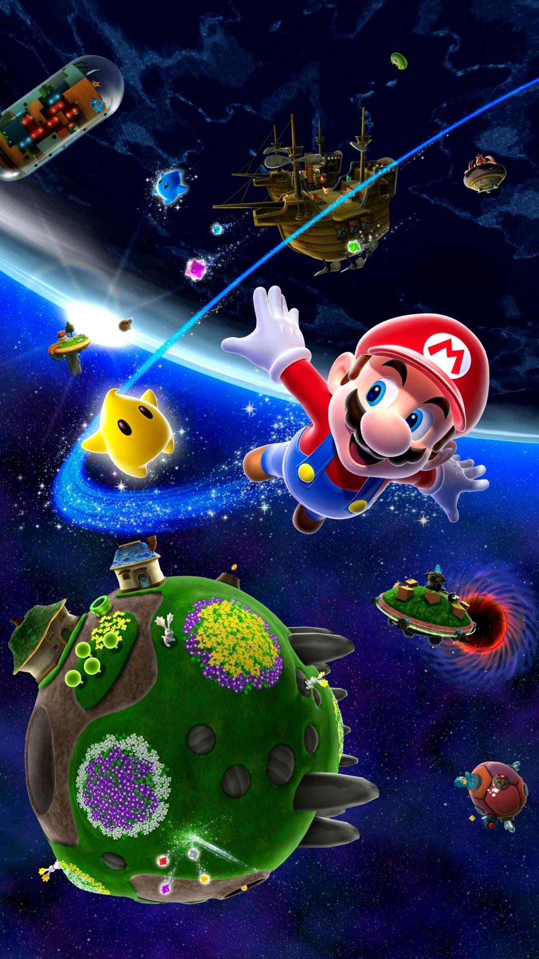 Super Mario Galaxy 2 Wallpaper HD (77+ pictures)