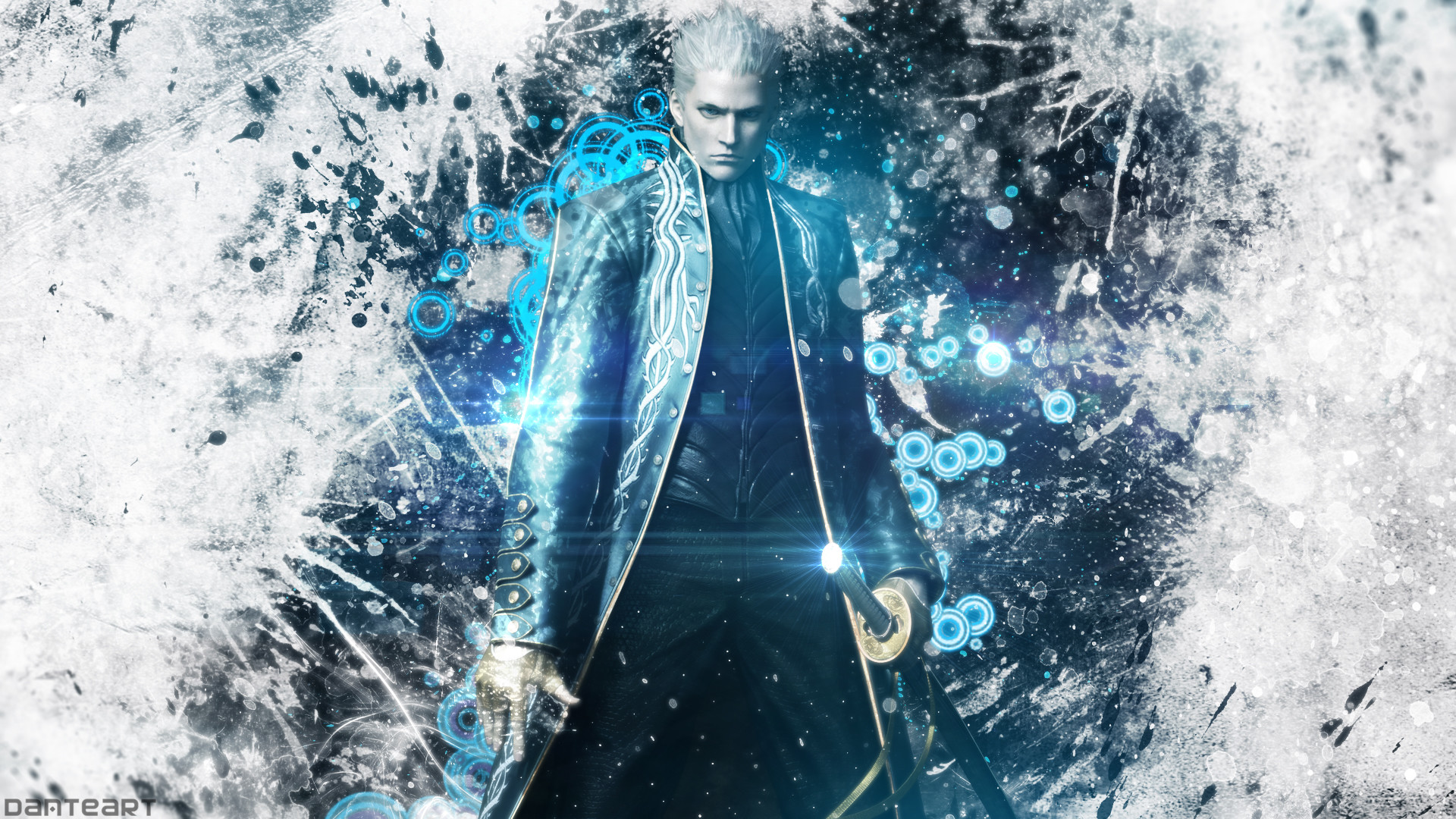 Vergil Yamato Sword Hd Wallpaper: Devil May Cry 4 Wallpaper (73+ Pictures