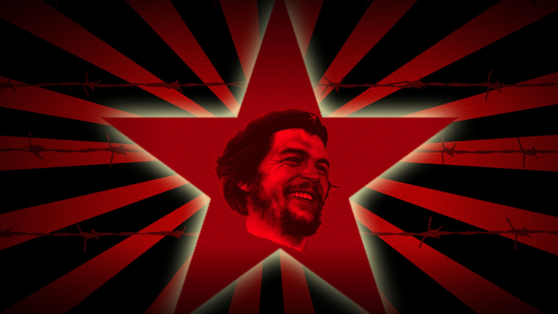 1920x1080 Silence is argument carried out by other means. - Che Guevara Quotes by Fidel Castro