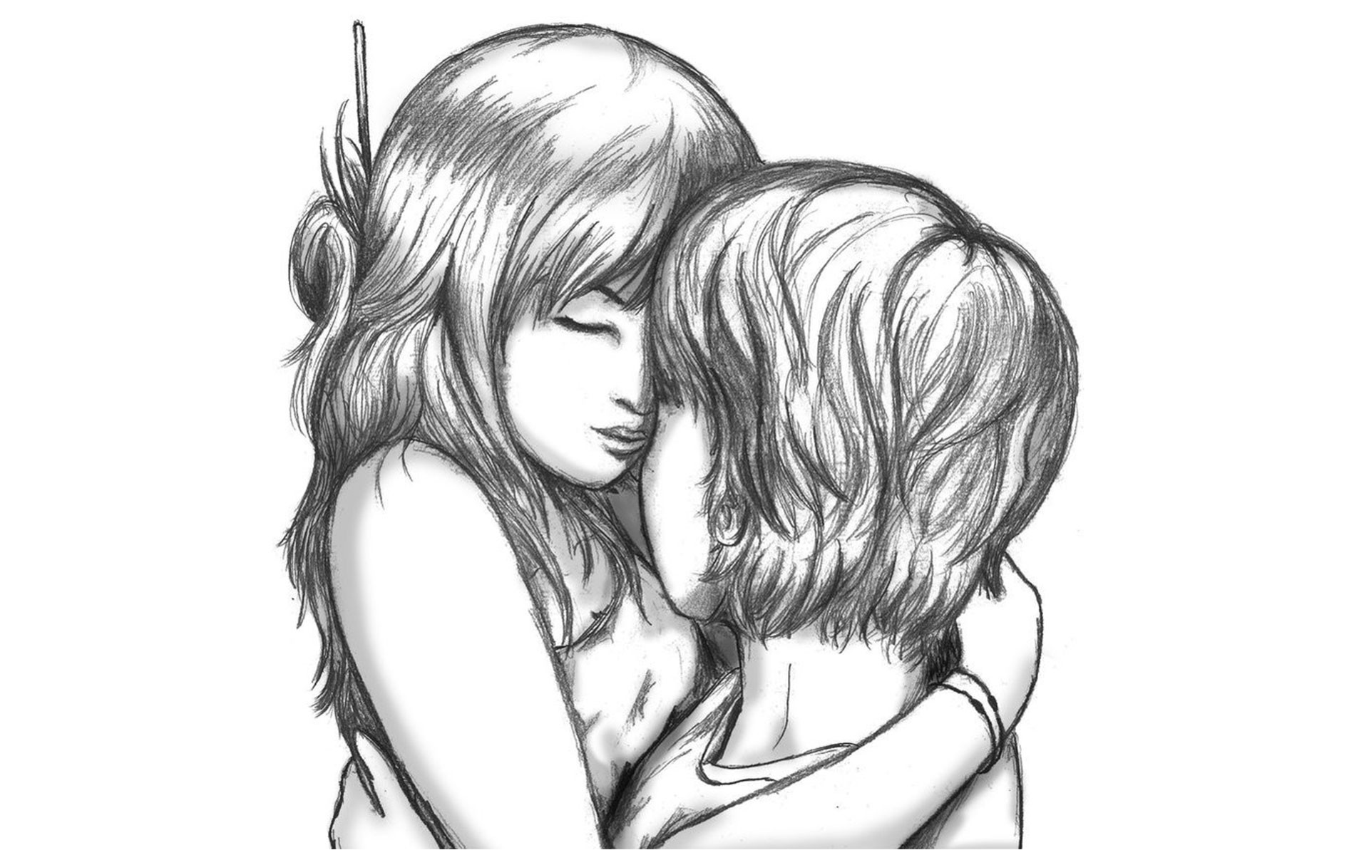 1507x2427 i love u couple pencil drawing images drawn little girl couple pencil and in color drawn little girl