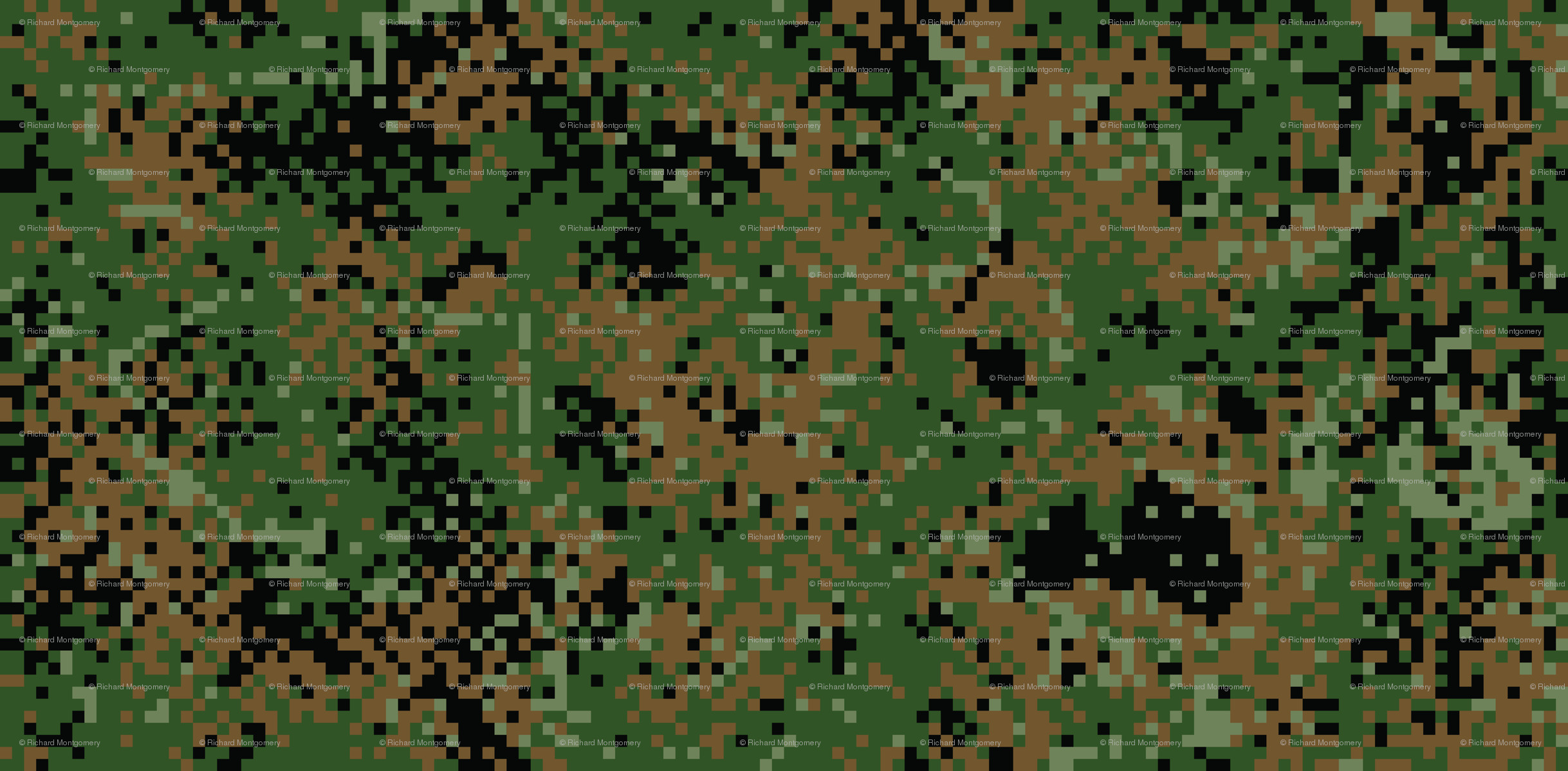 The Army Russia Camouflage Twilight Woodland Digital