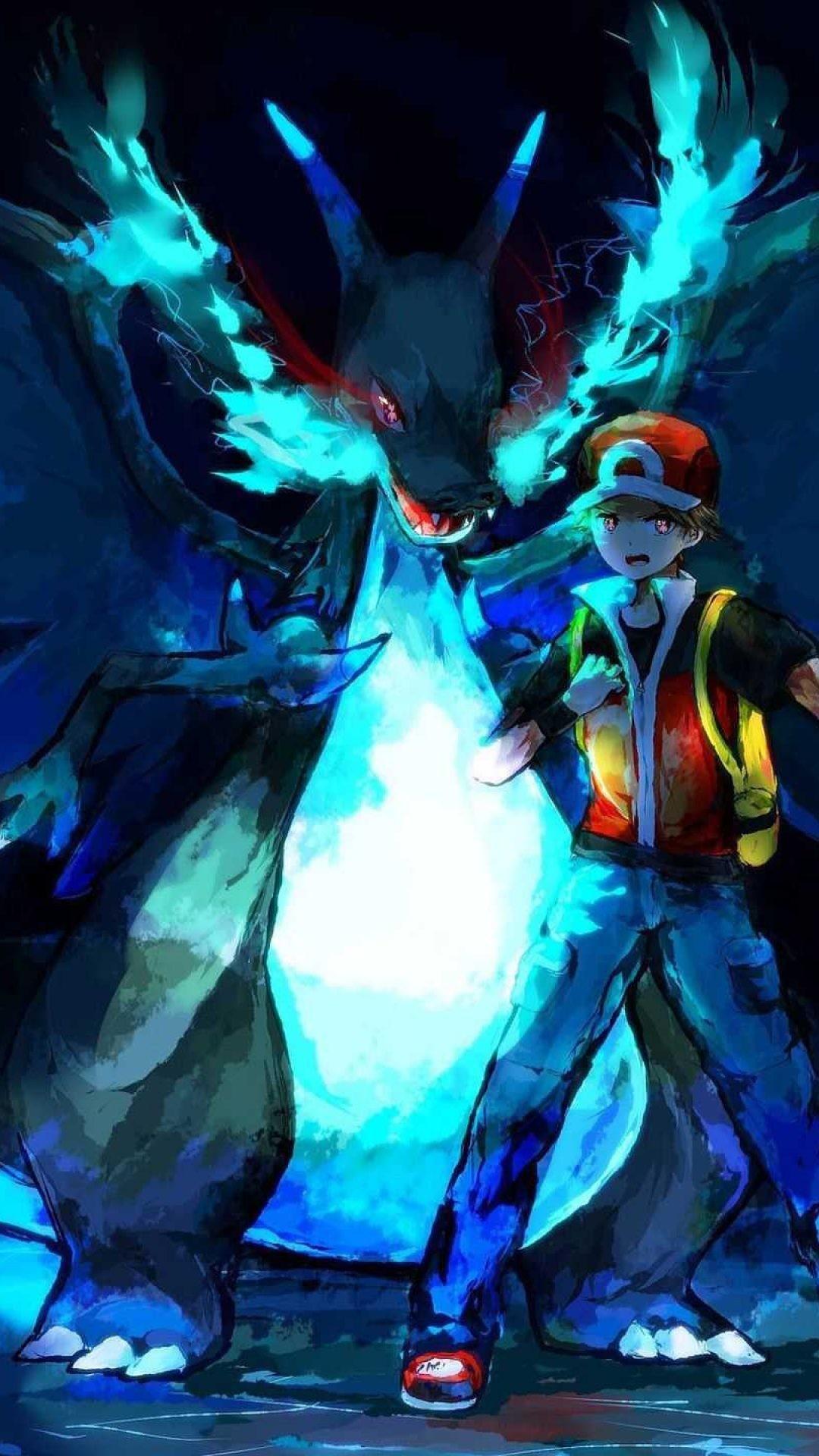 Pokemon Wallpaper (74+ pictures) |Mega Charizard Wallpaper Iphone