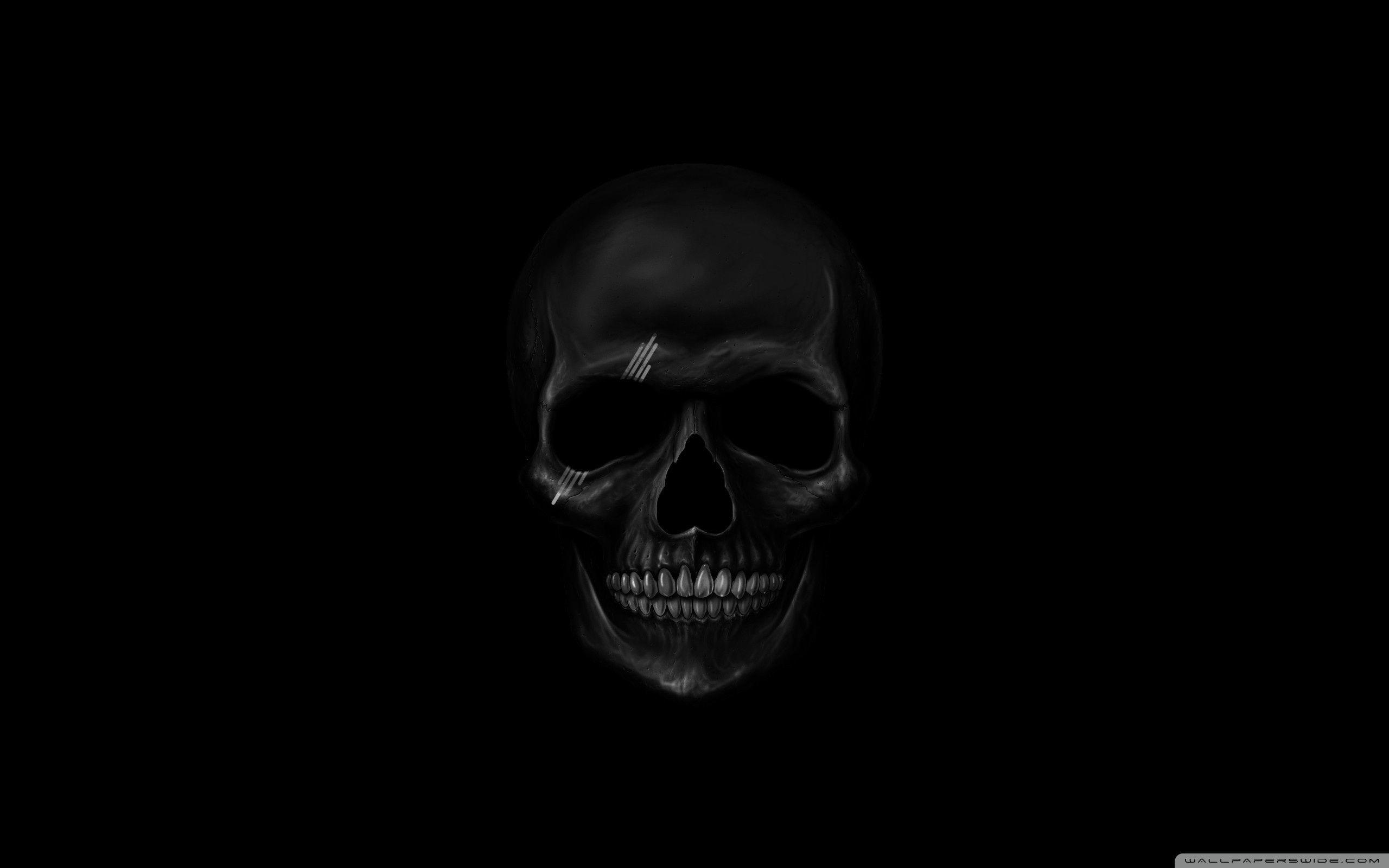 Black Skull Background 55 Pictures
