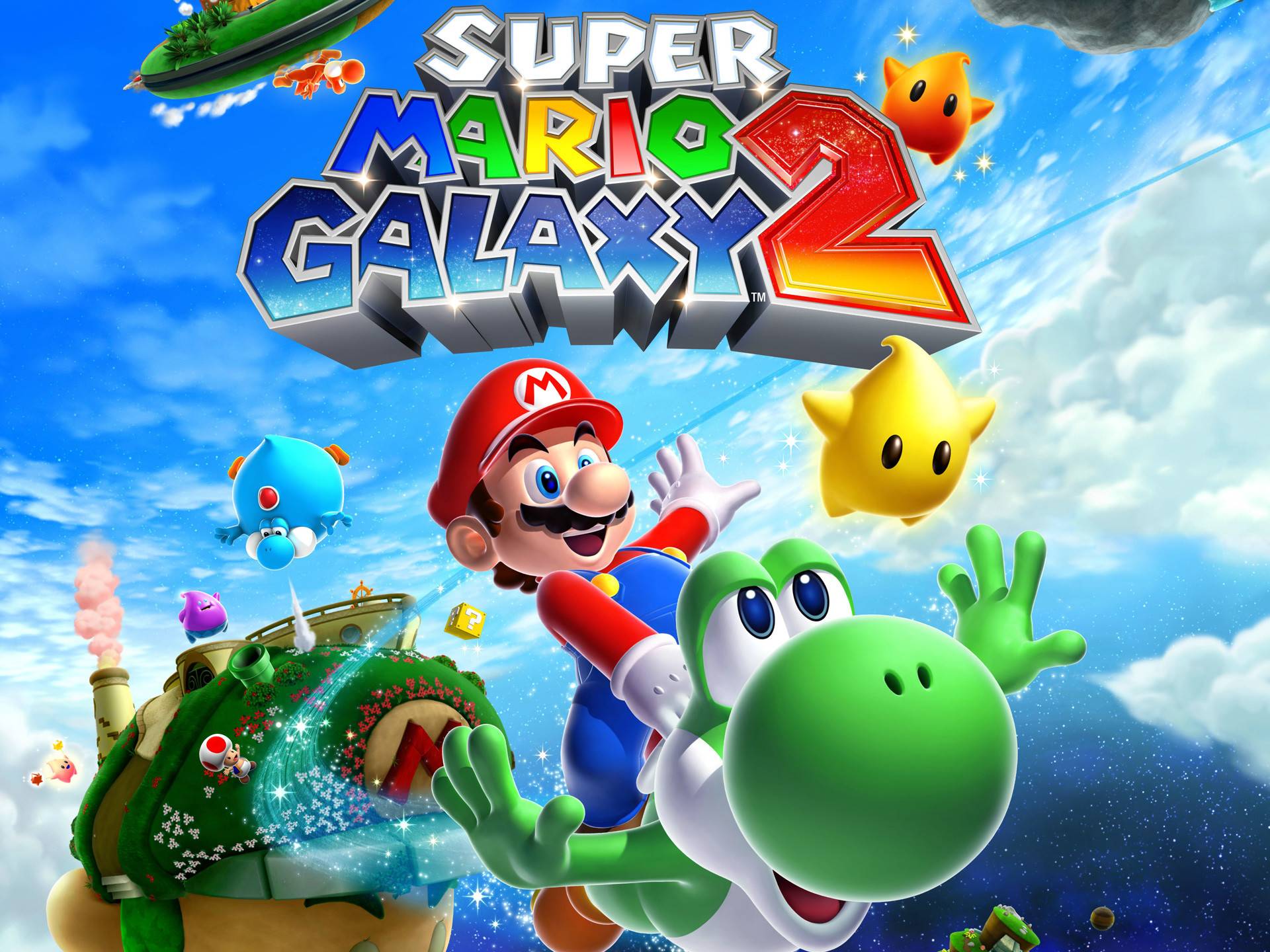 Super Mario Galaxy 2 Wallpaper Hd 77 Pictures
