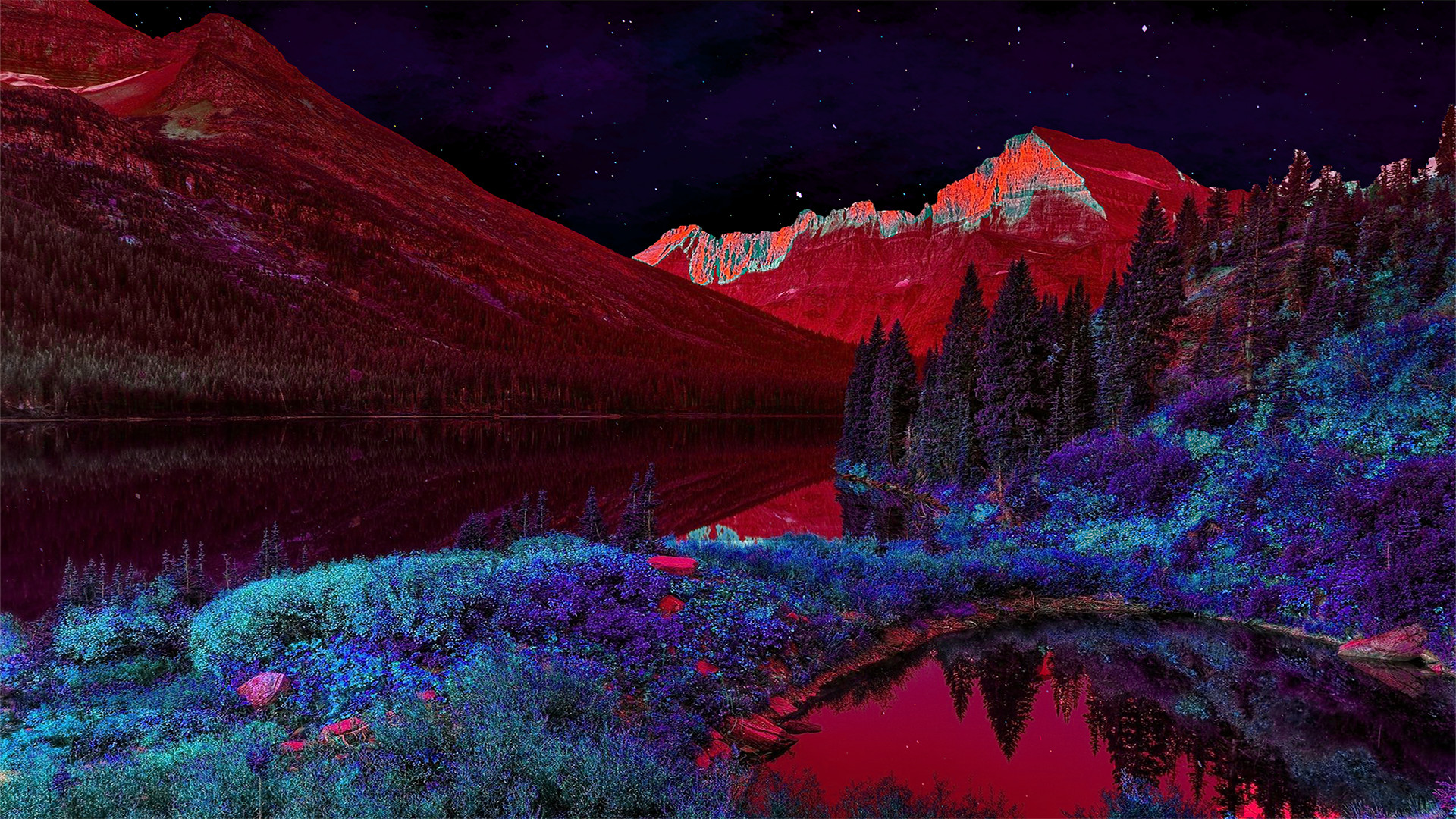 Trippy landscape wallpaper 61 pictures - Trippy nature wallpaper ...