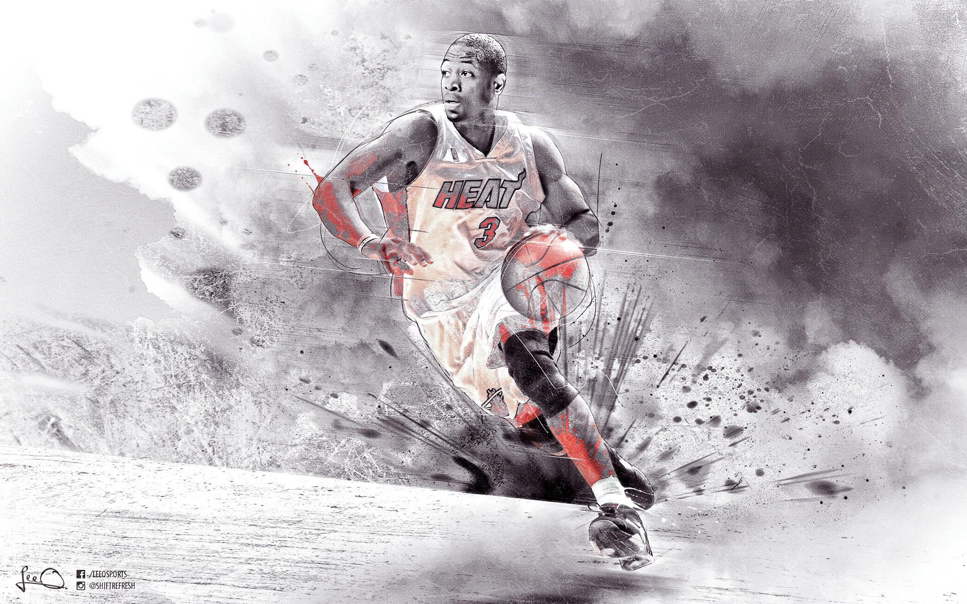 Hc84 Dwyane Wade Dunk Nba Flash Sports: D Wade Wallpaper (72+ Pictures