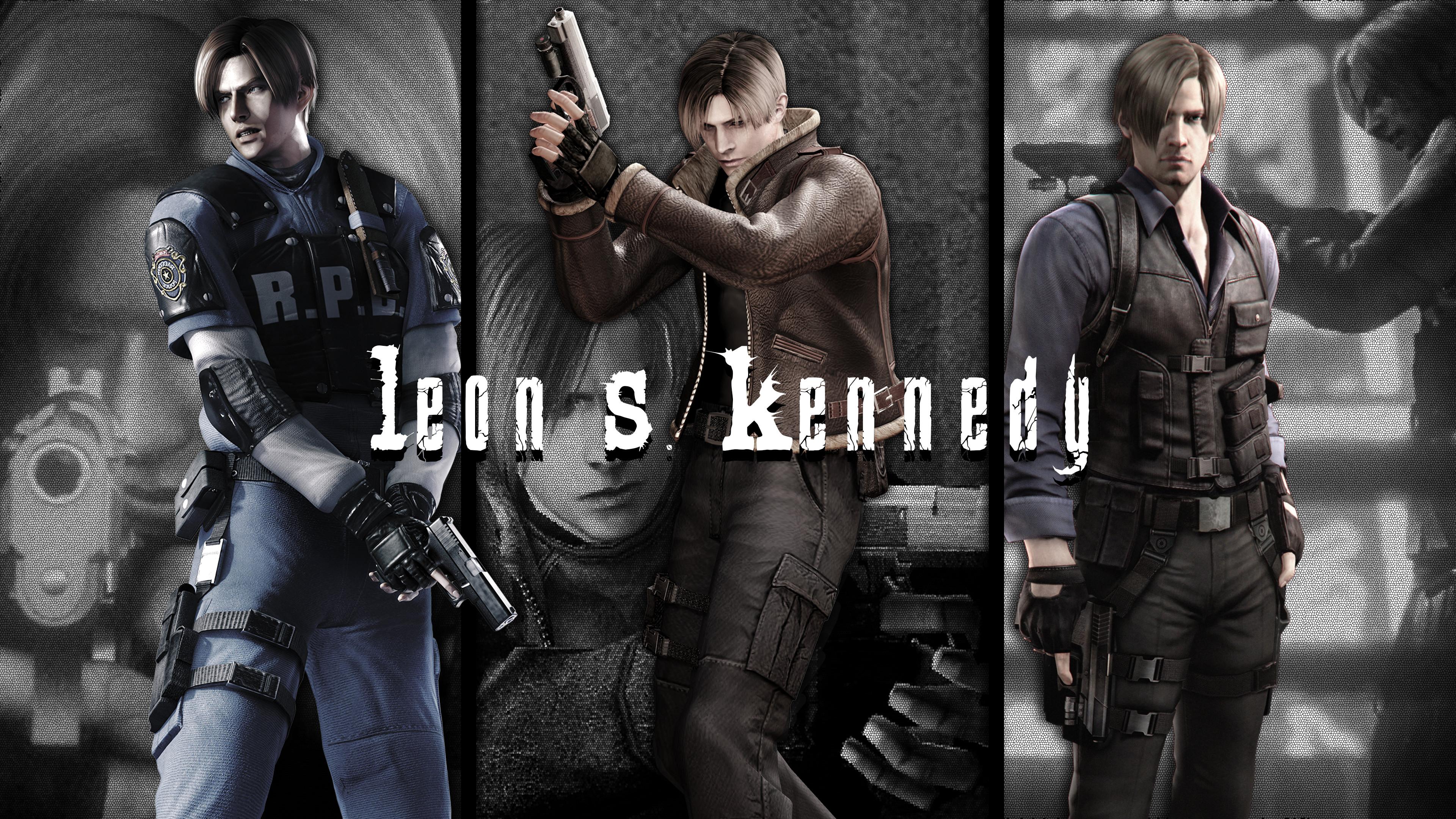 Resident Evil 4 Leon Wallpaper (65+ Pictures