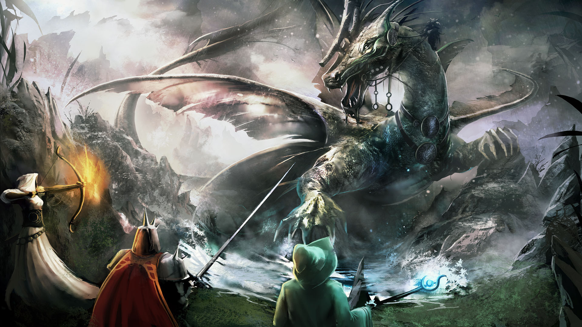 Dual Screen Hd Fantasy Wallpapers Get Your Fix Here: Dragonlance Wallpapers (48+ Pictures
