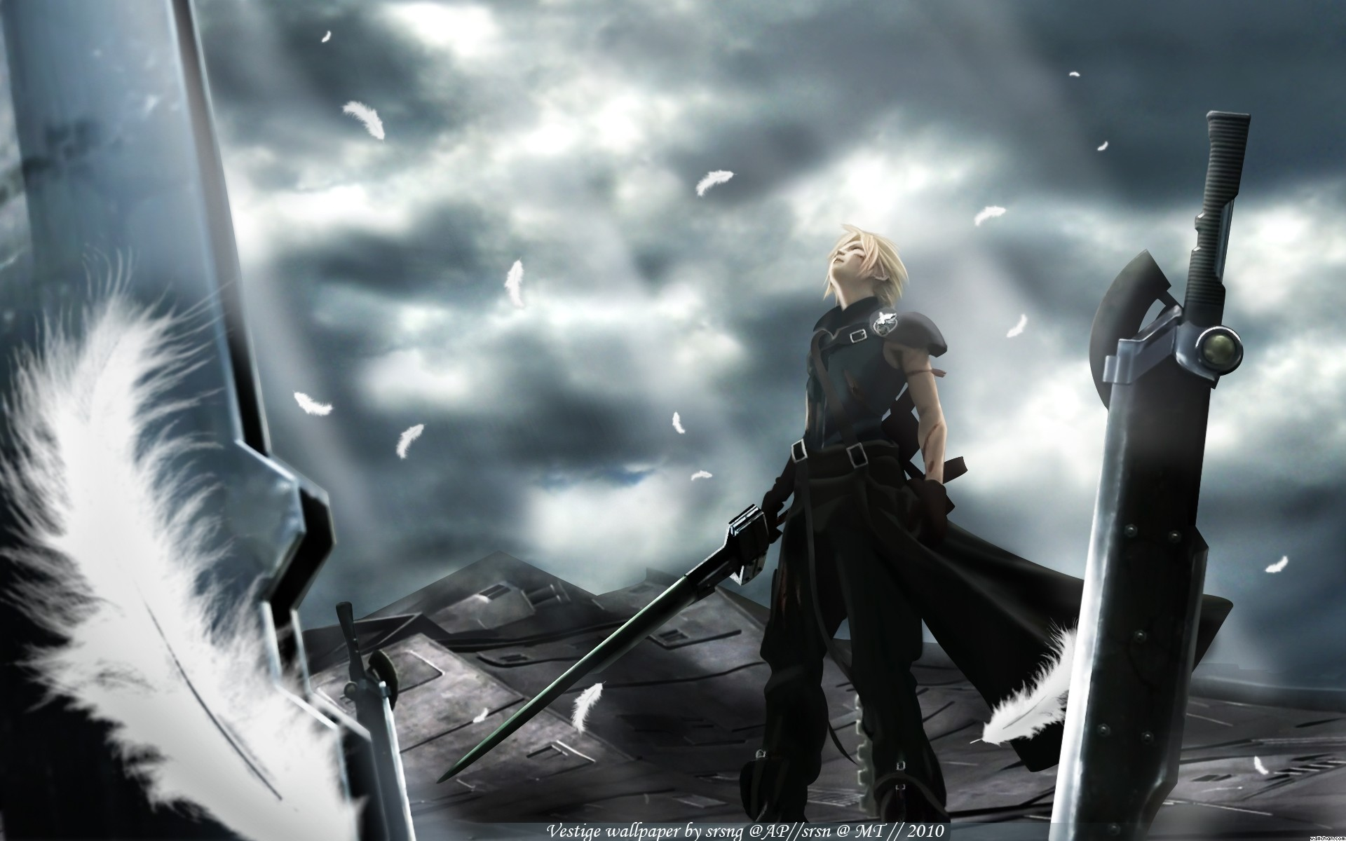 Final Fantasy Cloud Wallpaper HD 69 Pictures
