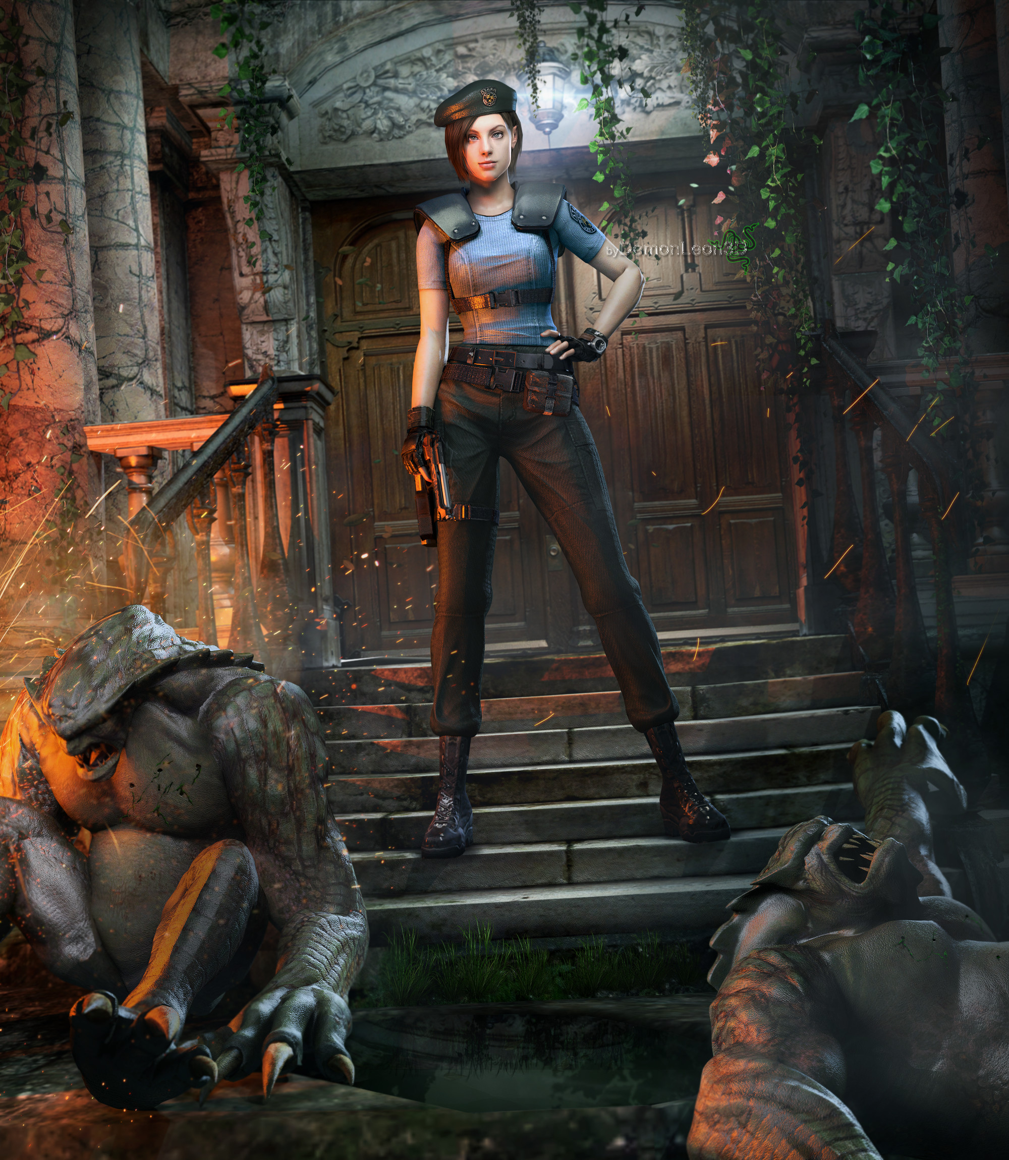 Resident Evil Hd Wallpaper: Resident Evil Jill Valentine Wallpaper (72+ Pictures