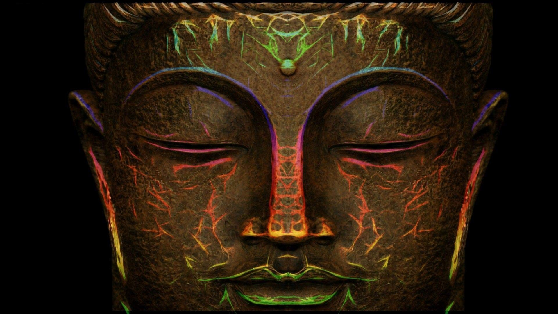 Trippy Buddha Wallpaper (58+ pictures)