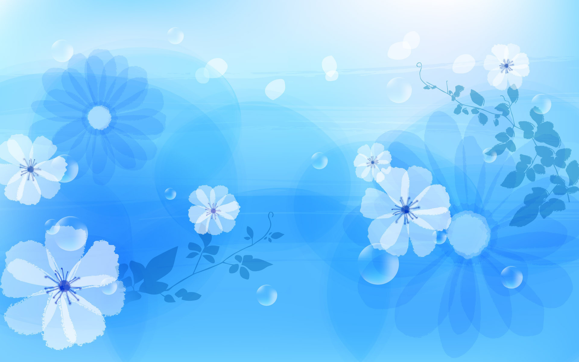 Blue Floral Background 41 Pictures