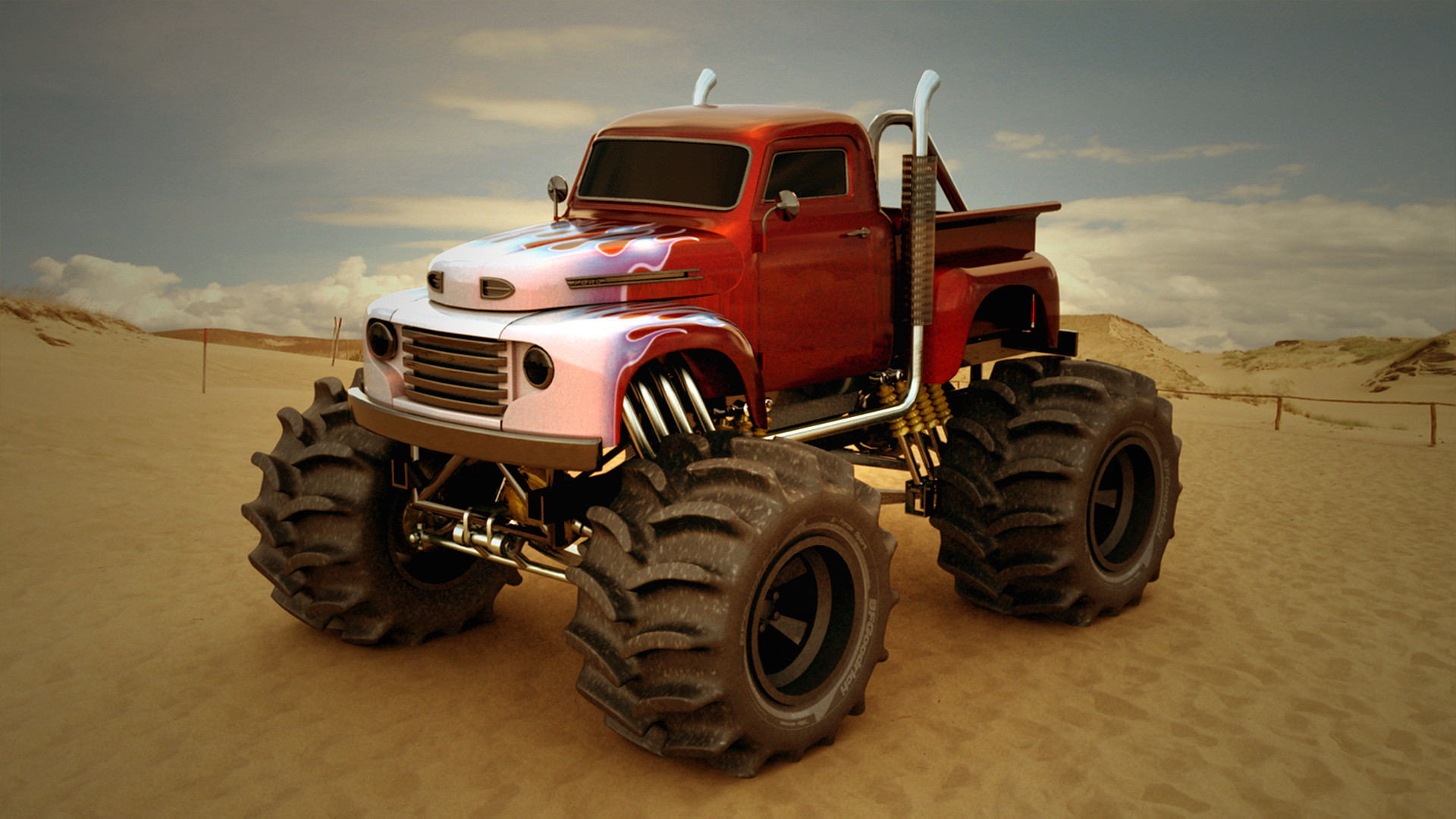 Monster Truck Backgrounds 54 Pictures