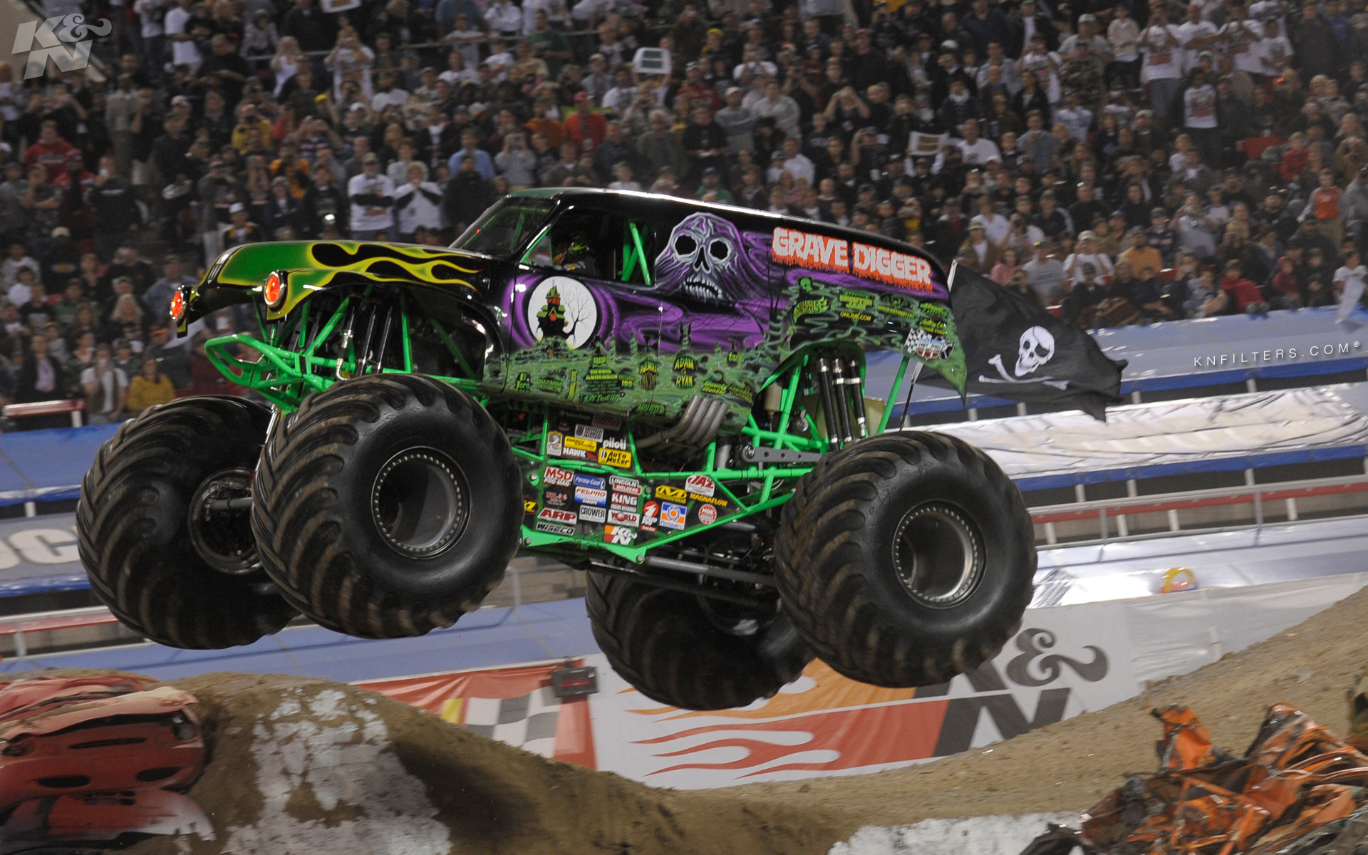 Monster Truck Backgrounds (54+ pictures)