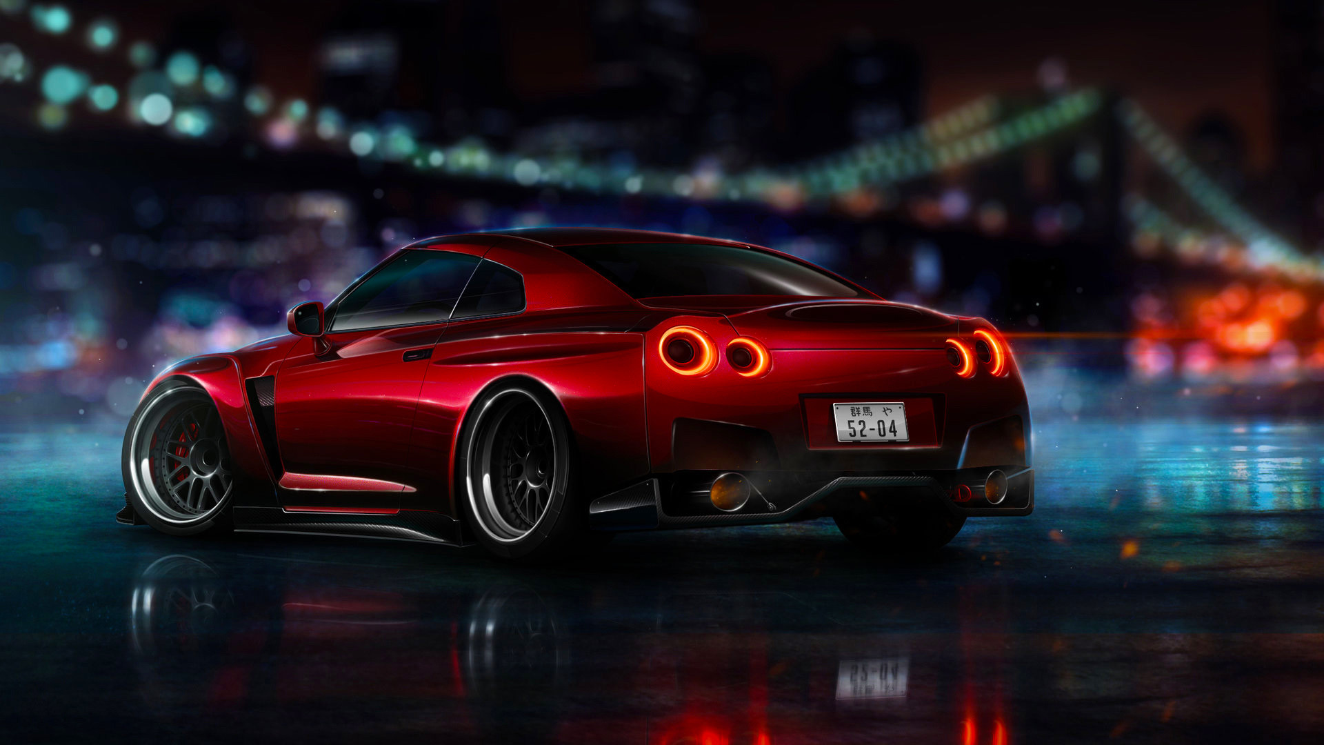 Nissan Gtr R35 Wallpapers Free Download 1920x1080