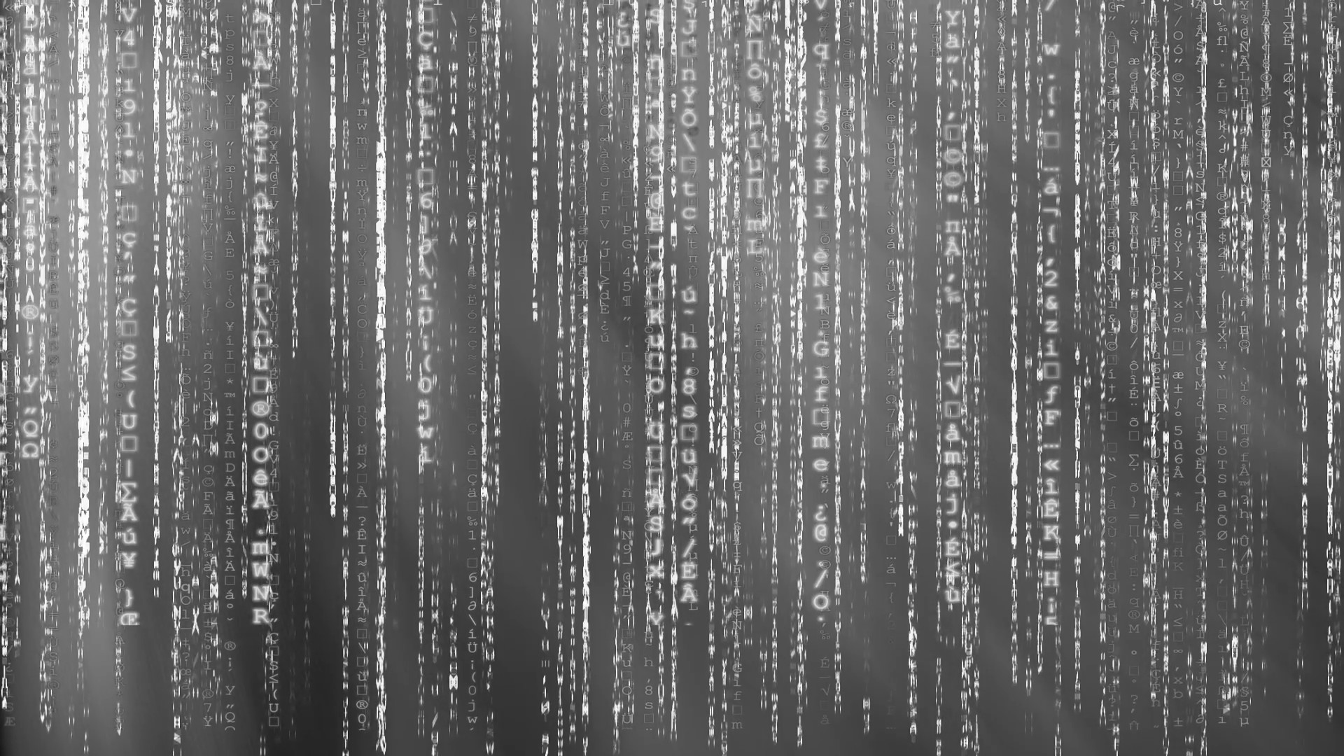 Matrix wallpaper moving blue