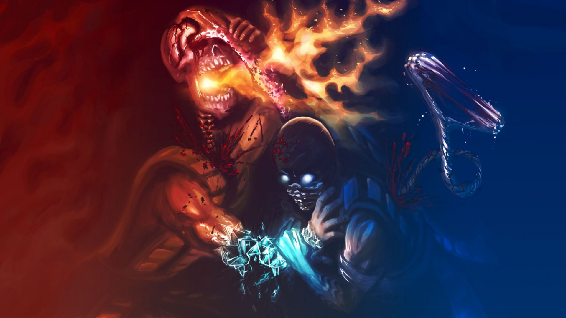 Scorpion Mortal Kombat Wallpaper 63 Pictures