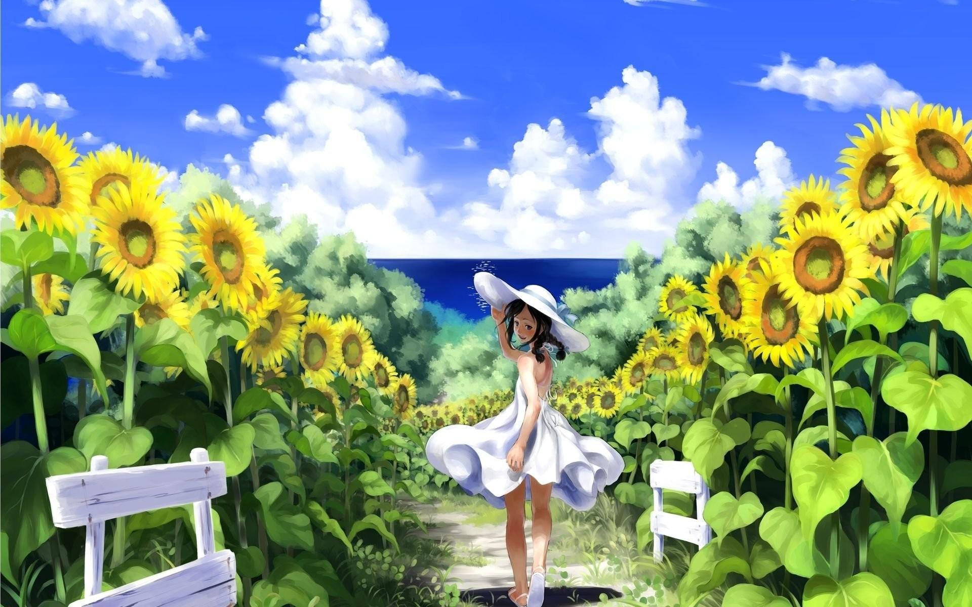 Best Sunflower Wallpaper on HipWallpaper Beautiful Sunflower