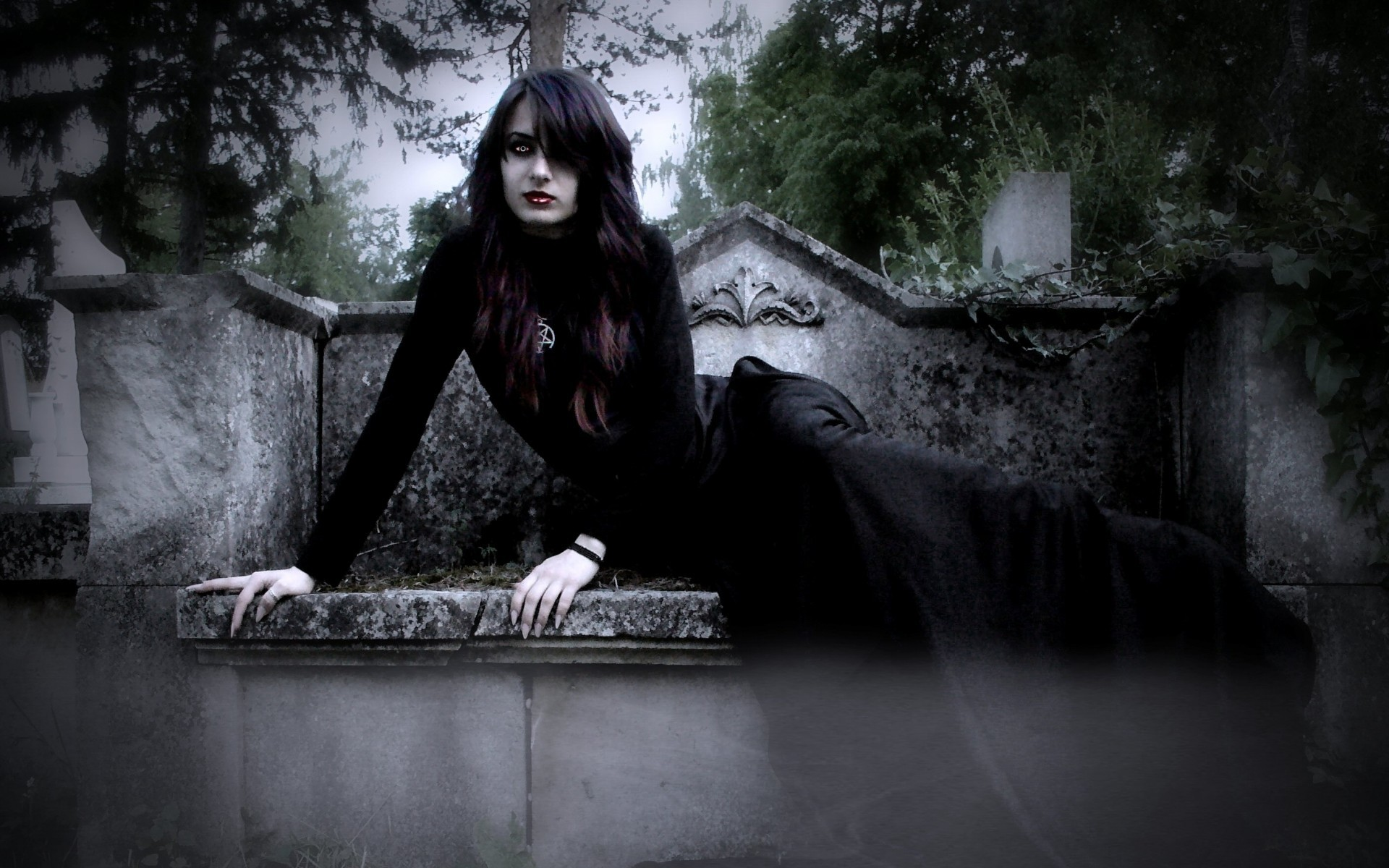 Awesome Vampire Dark Wallpaper Android Images