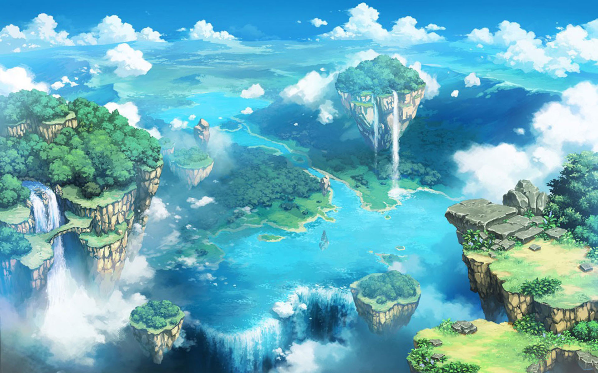 Anime Landscape Wallpapers (71+ pictures)