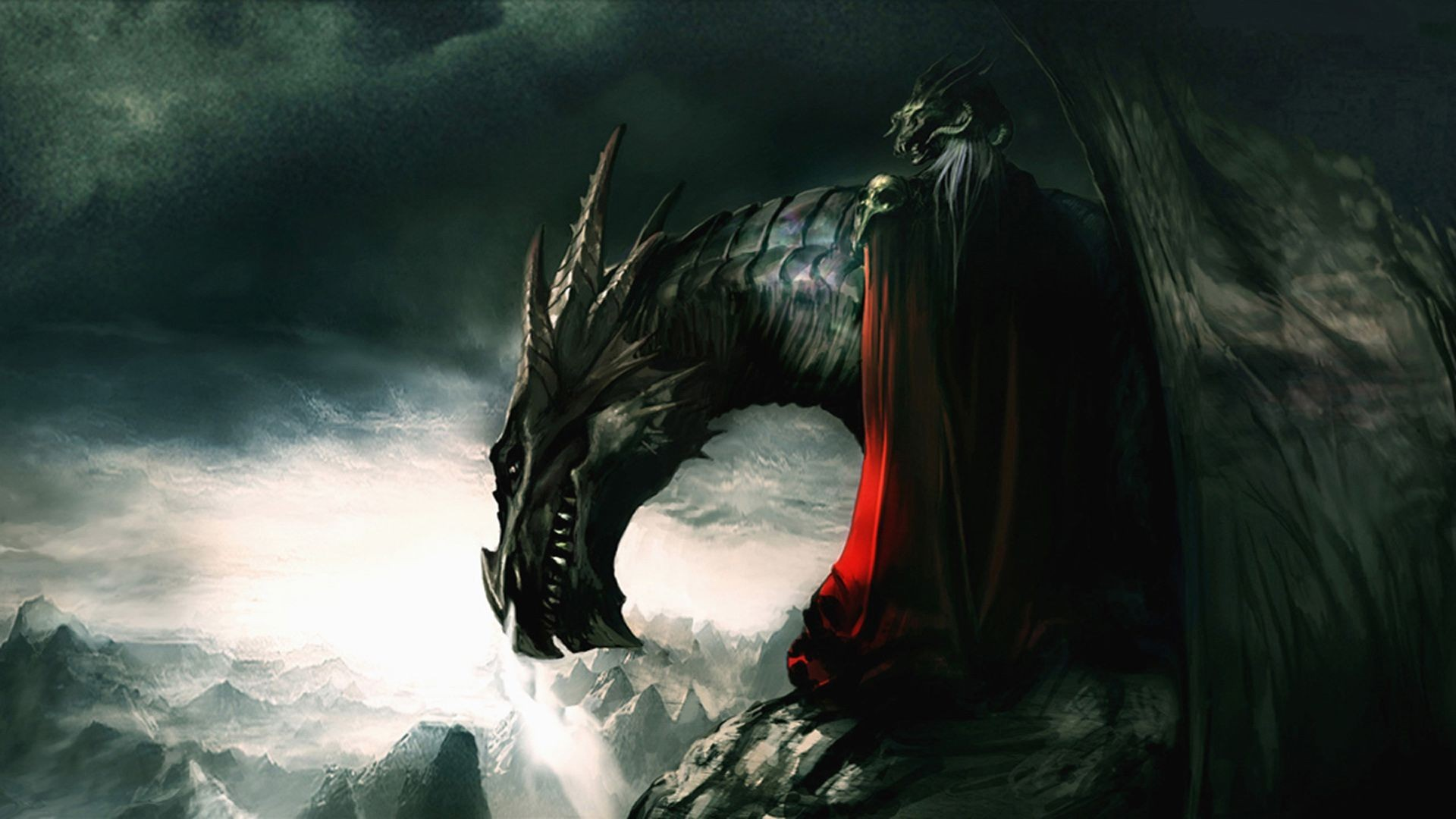 Dragon Wallpaper Widescreen 71 Pictures