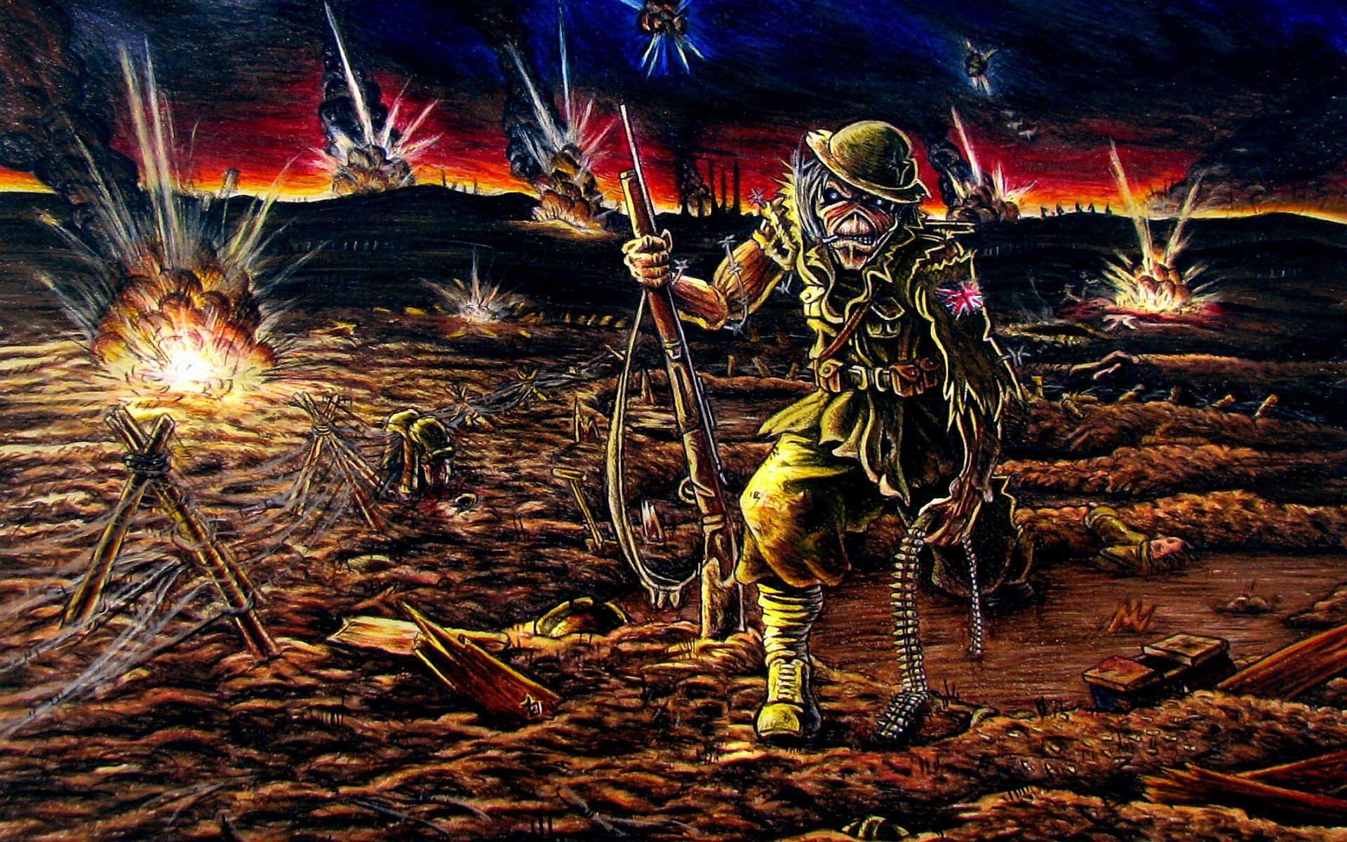 Iron Maiden Wallpapers 72 Pictures