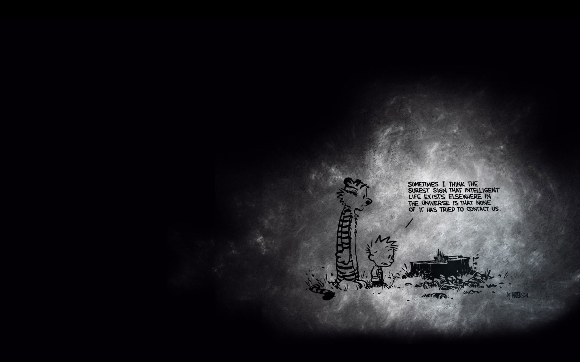 Calvin and Hobbes Wallpaper Space (63+ pictures)