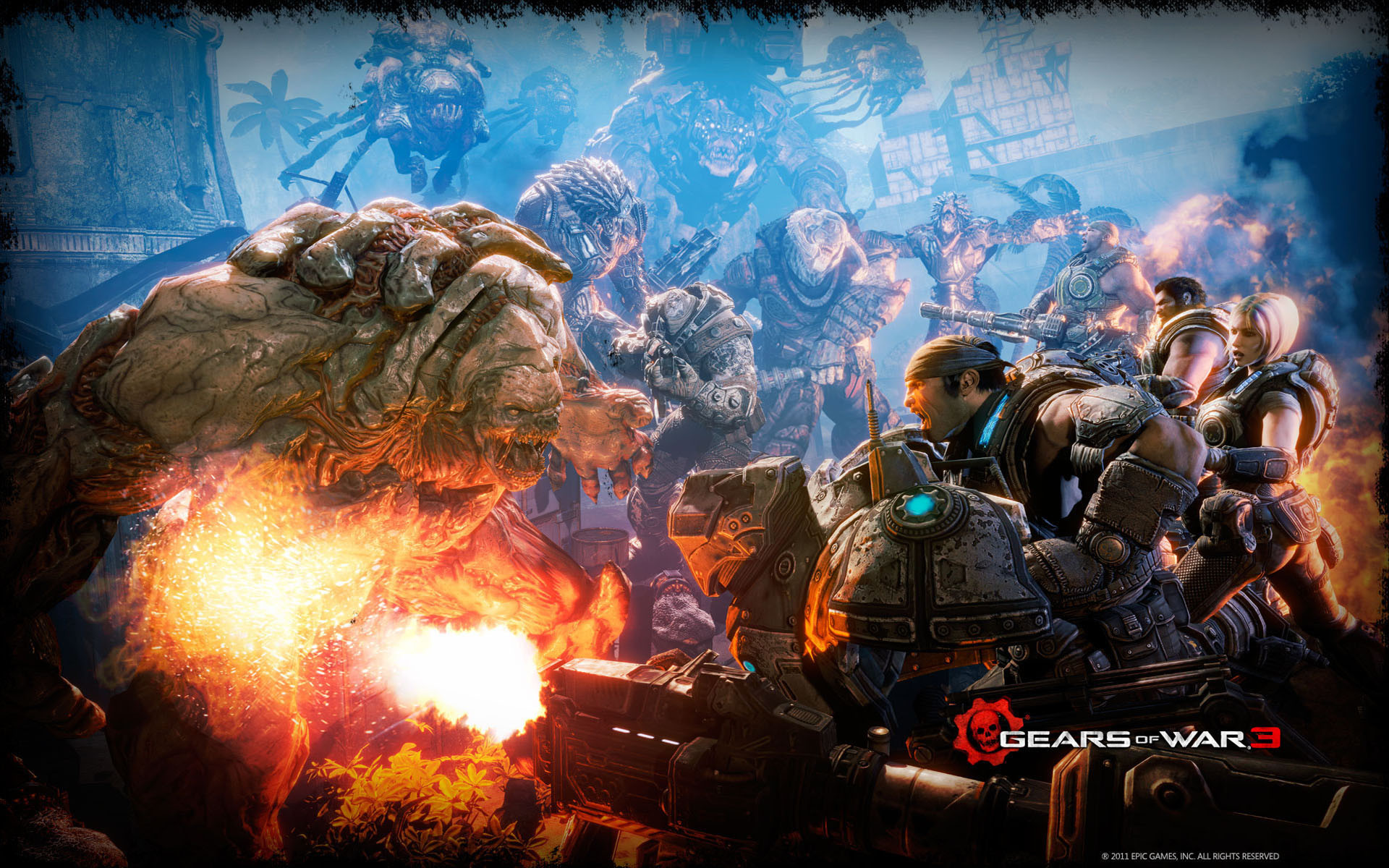Gears Of War Background 76 Pictures