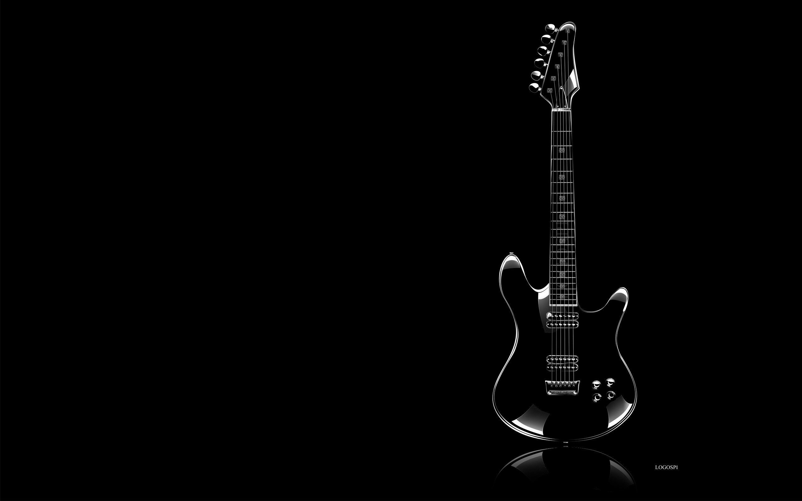 Guitar Black Background 55 Pictures