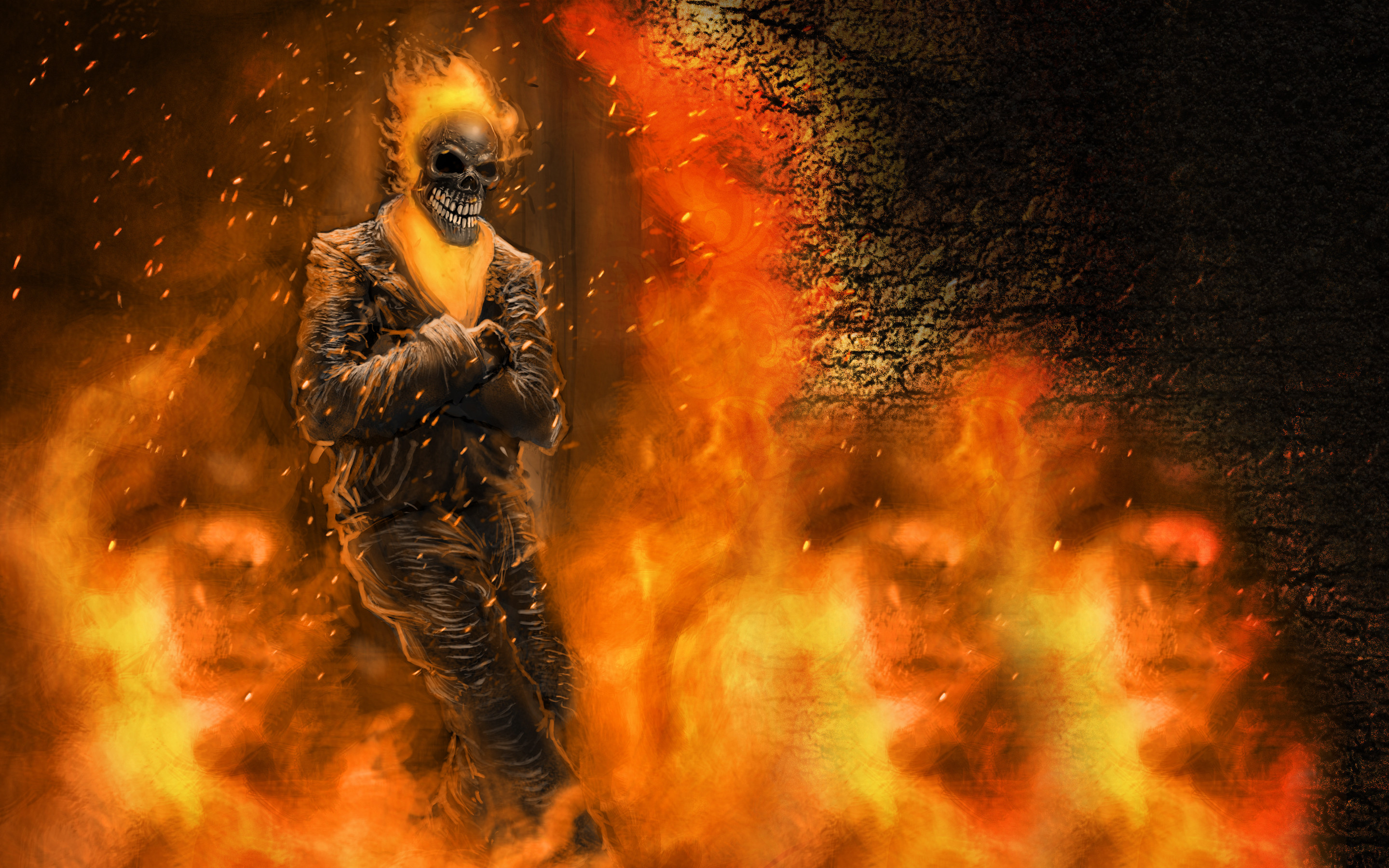 Wallpaper Ghost Rider 2 75 Pictures