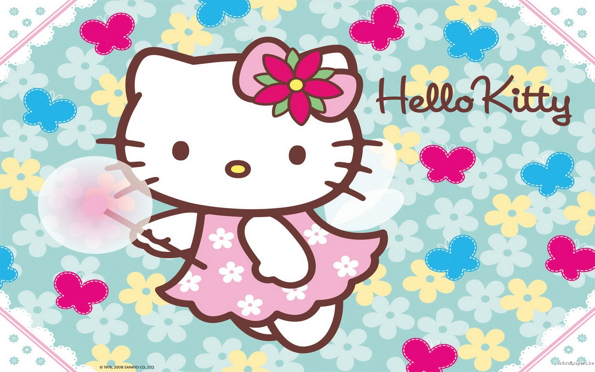 Blue Hello Kitty Wallpaper 62 Pictures