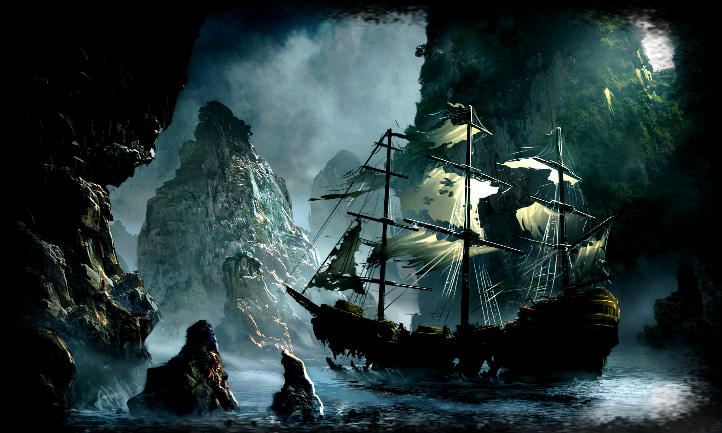 Pirate Ships Wallpapers (68+ pictures)