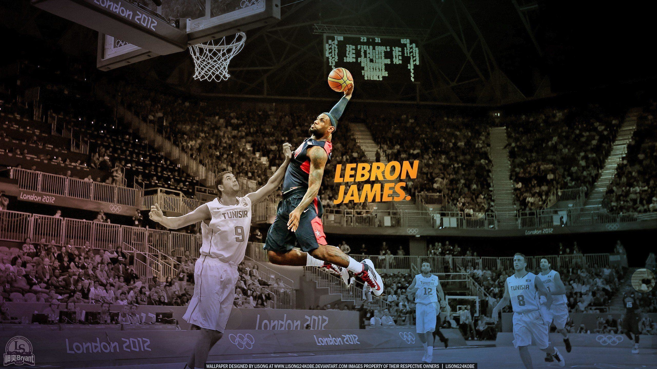 Lebron James Dunking Wallpaper 63 Pictures