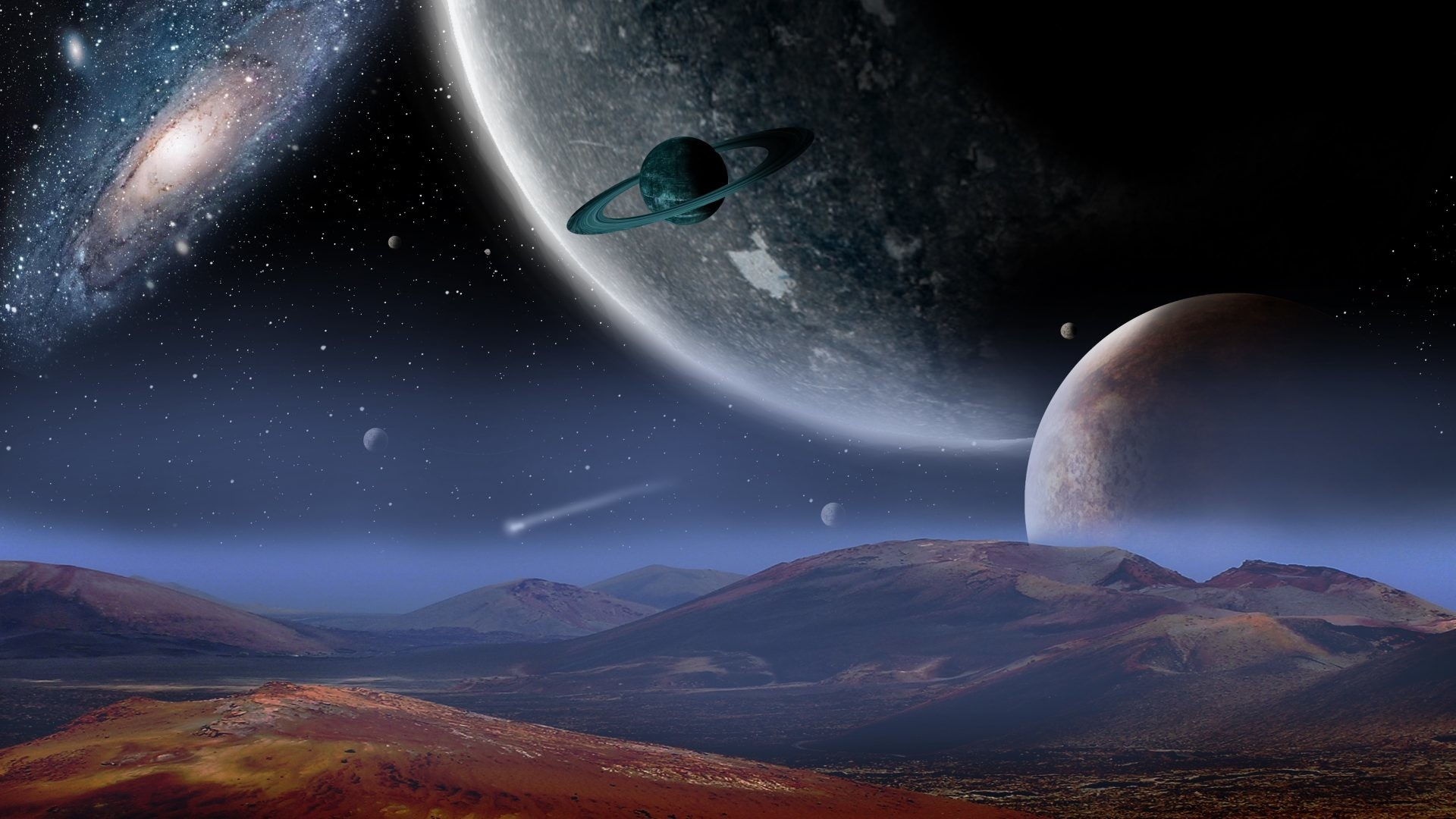 Fantasy Space Wallpapers 76 Pictures