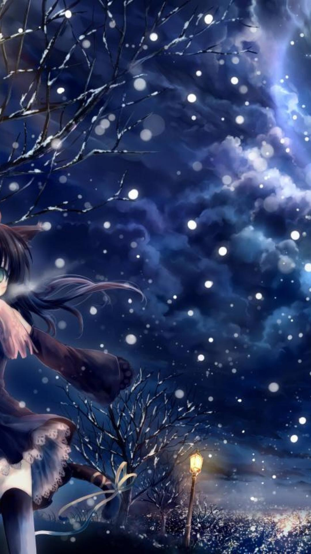 Winter Anime Wallpaper 80 Pictures