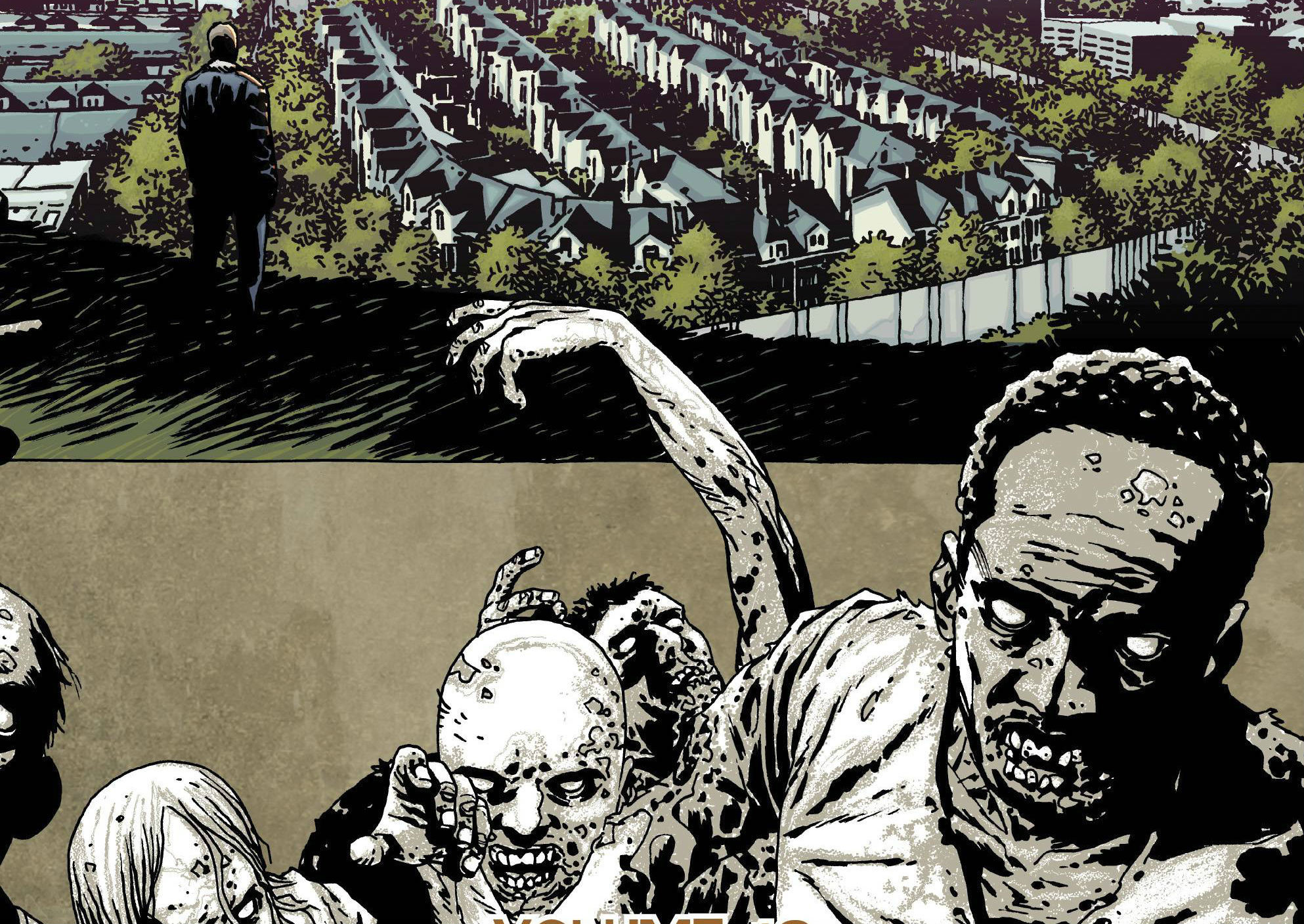 Walking Dead Comic Wallpaper (66+ pictures)