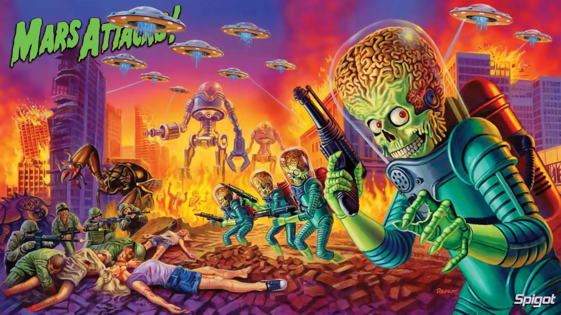 Mars Attacks Wallpaper 75 Pictures