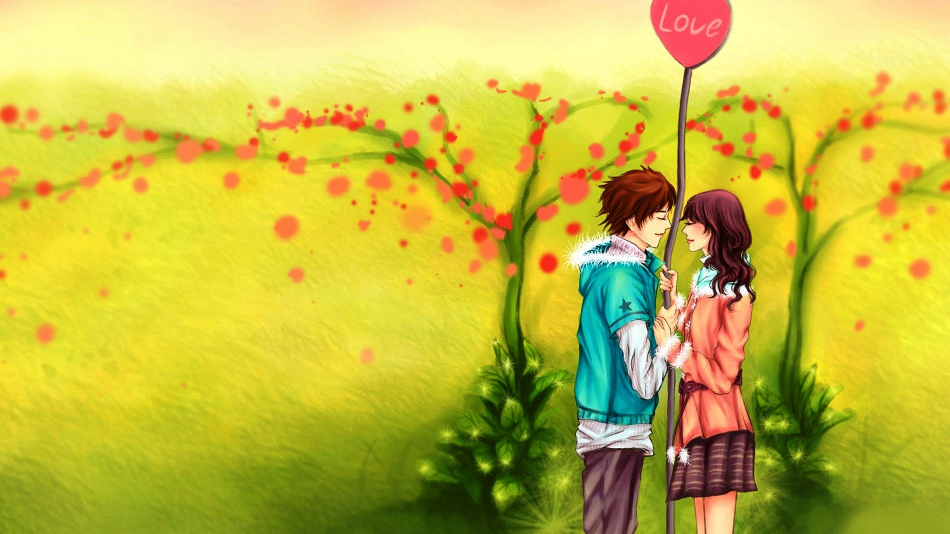 Cute Romantic Wallpapers (64+ pictures)