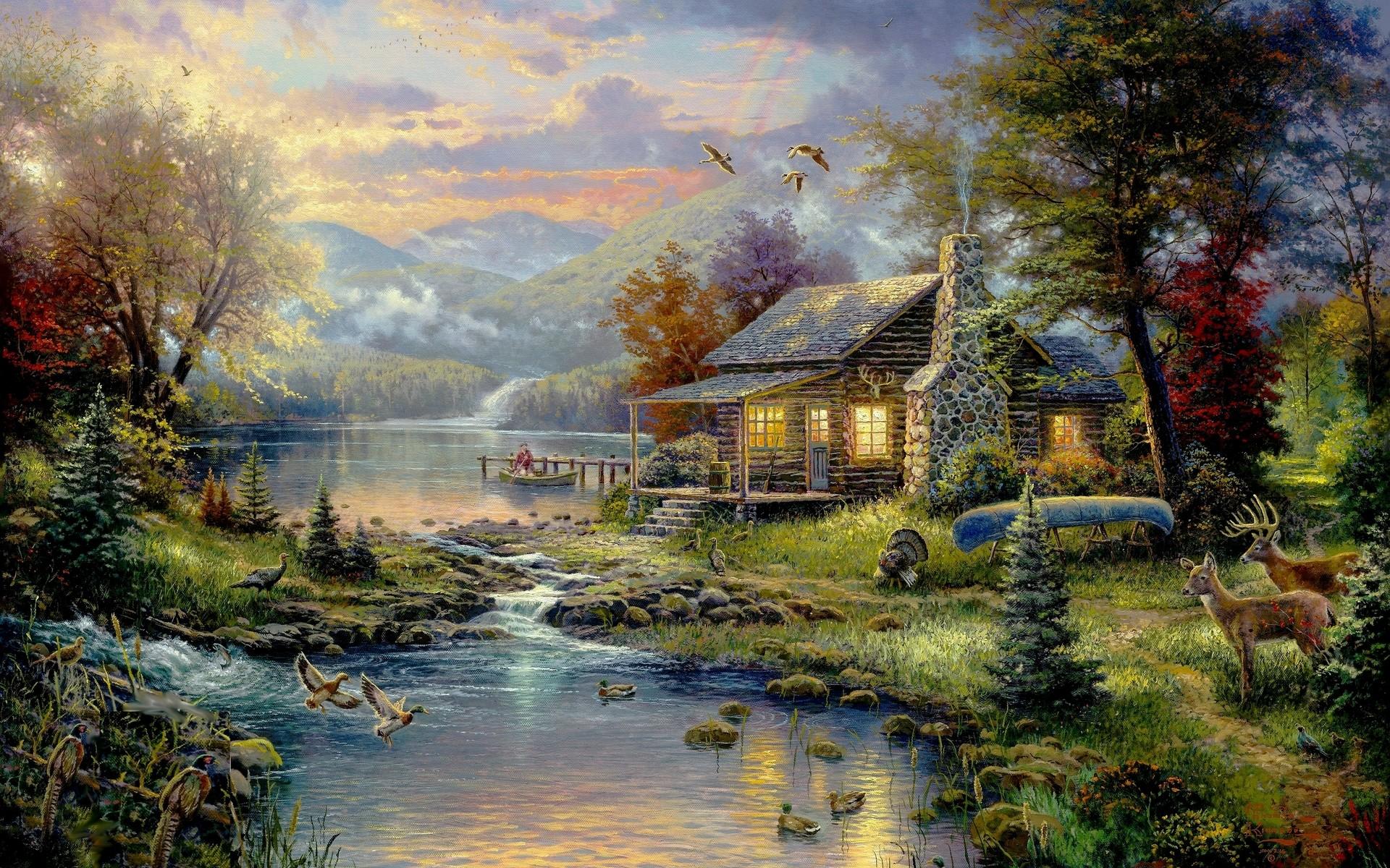 Wallpaper Hd Art Paintings