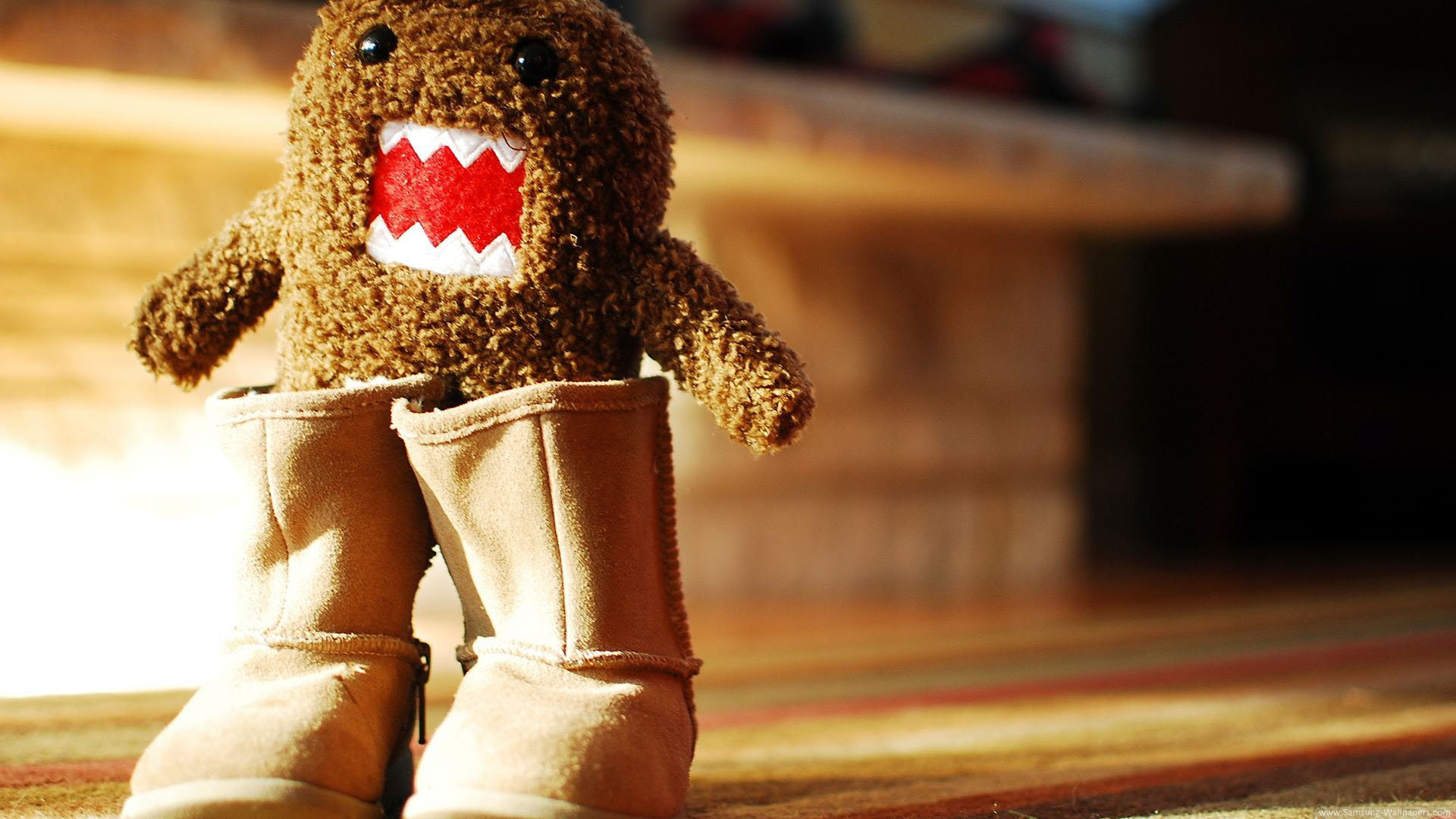 1920x1080 Cute Domo Wallpaper