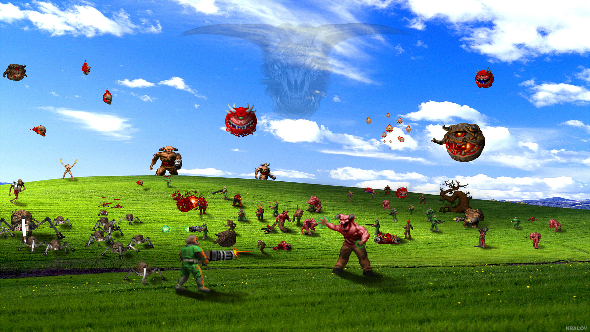 Windows 95 Desktop Background 61 Pictures