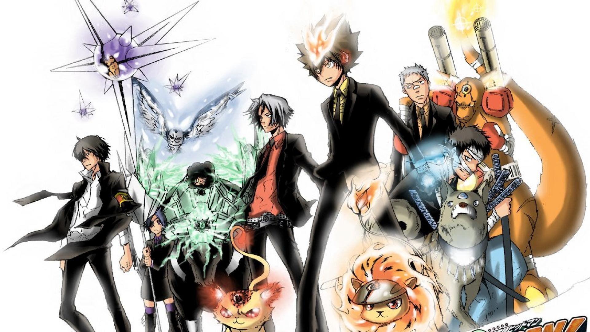 Hitman Reborn Wallpaper 74 Pictures