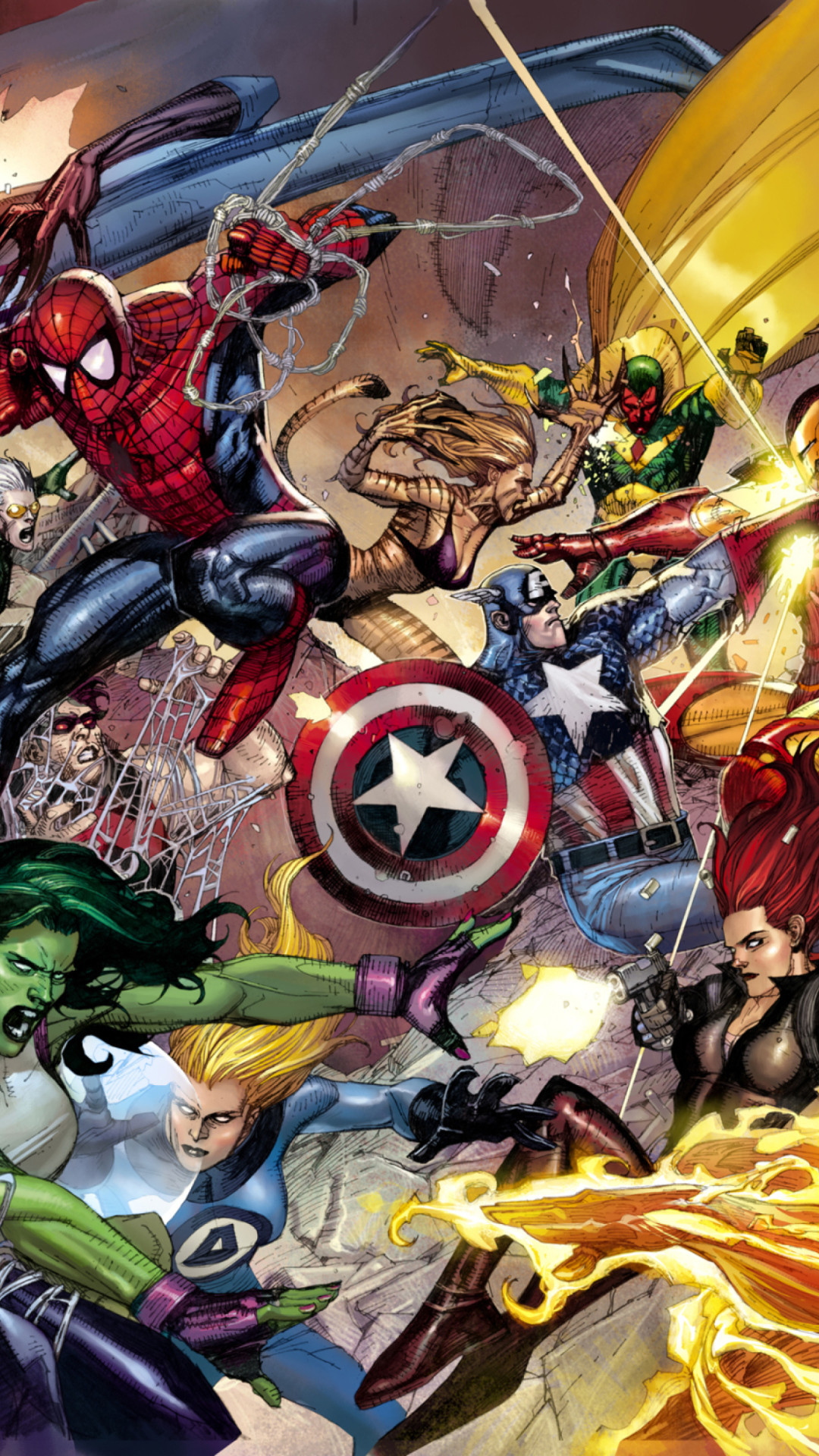 Marvel Ultimate Alliance 2 Wallpaper (73+ pictures)