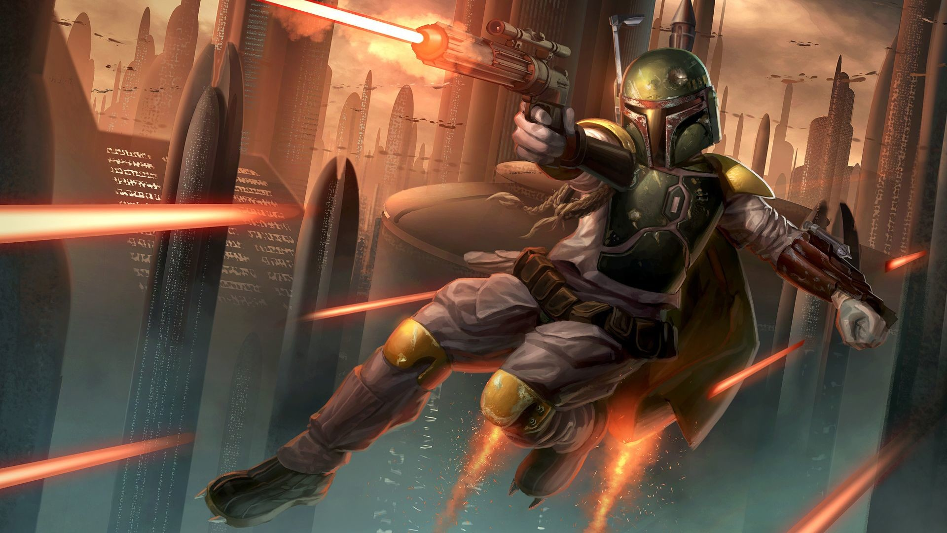 Star Wars Bounty Hunter Wallpaper 59 Pictures