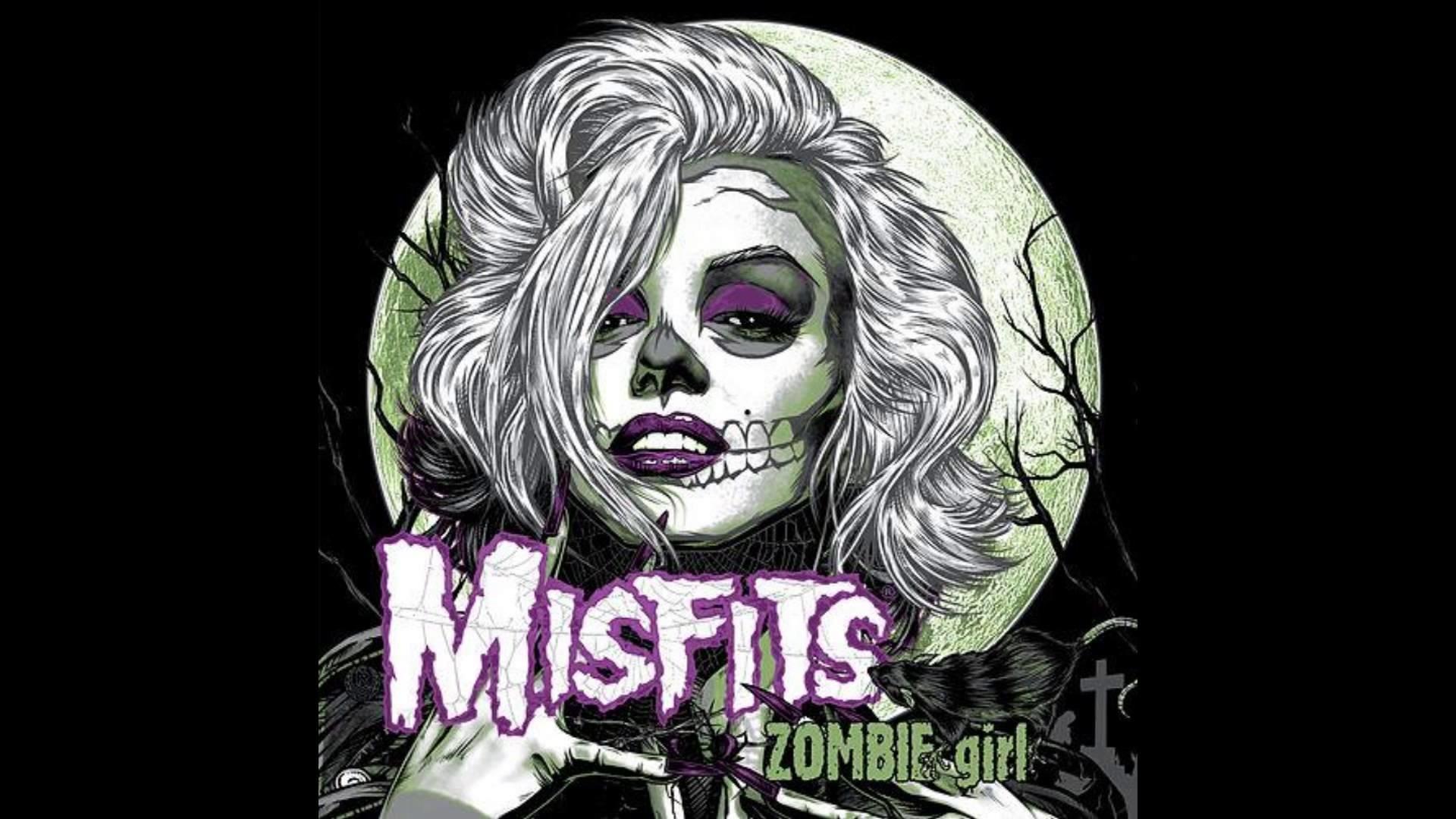 The Misfits Skull Wallpaper